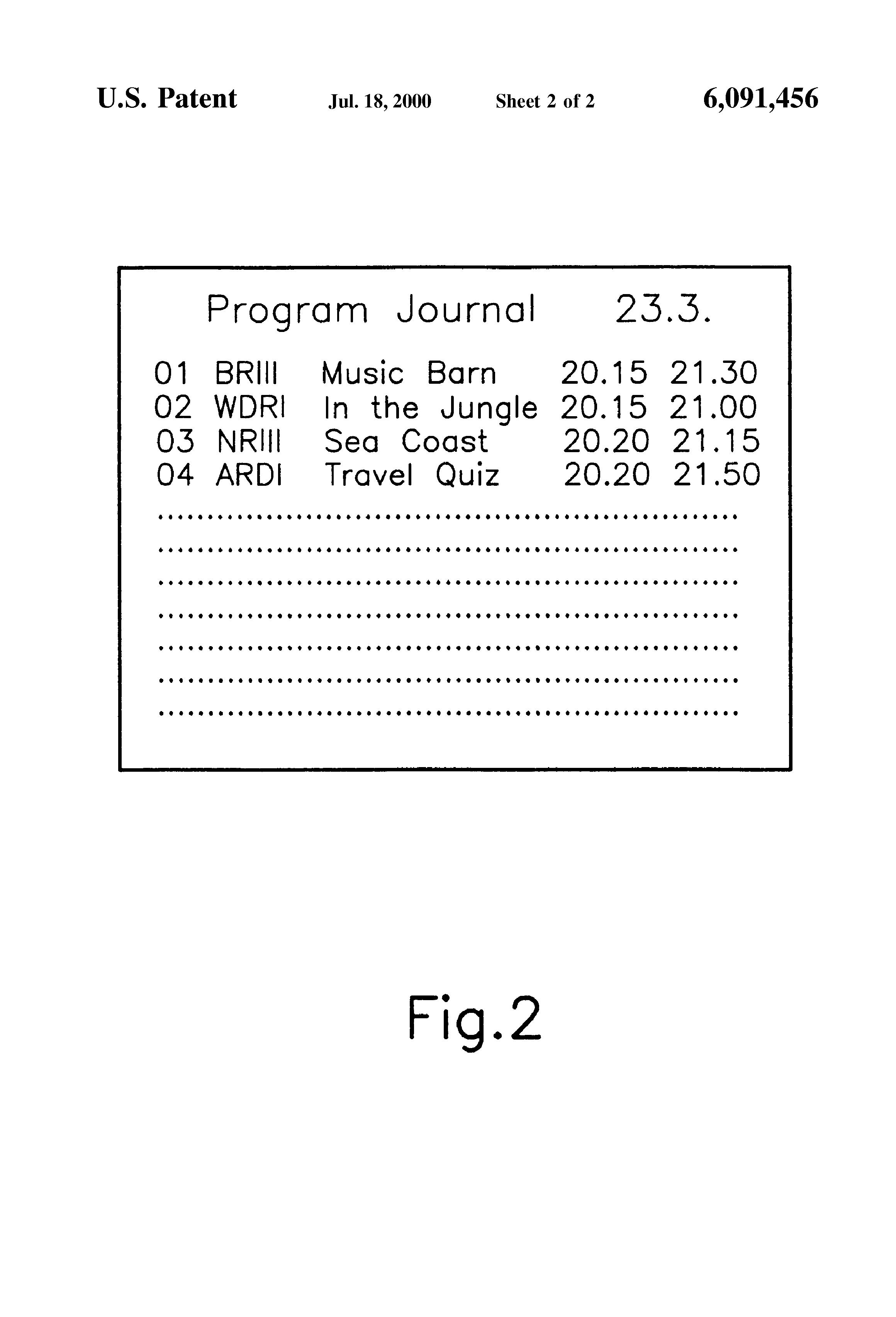 Patent US6091456