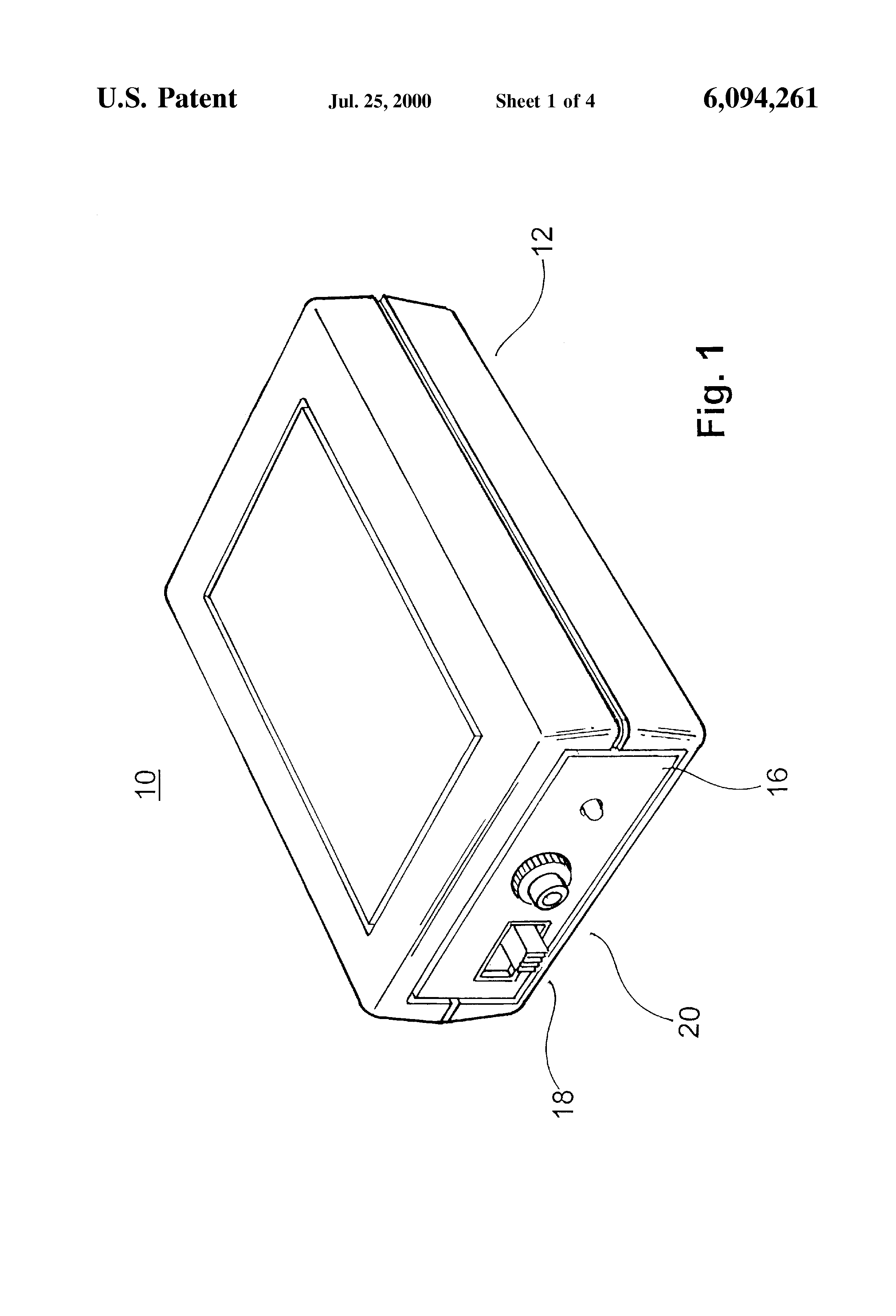 Apparatus And Method For Installing Cable : Patent us method and apparatus for distinguishing