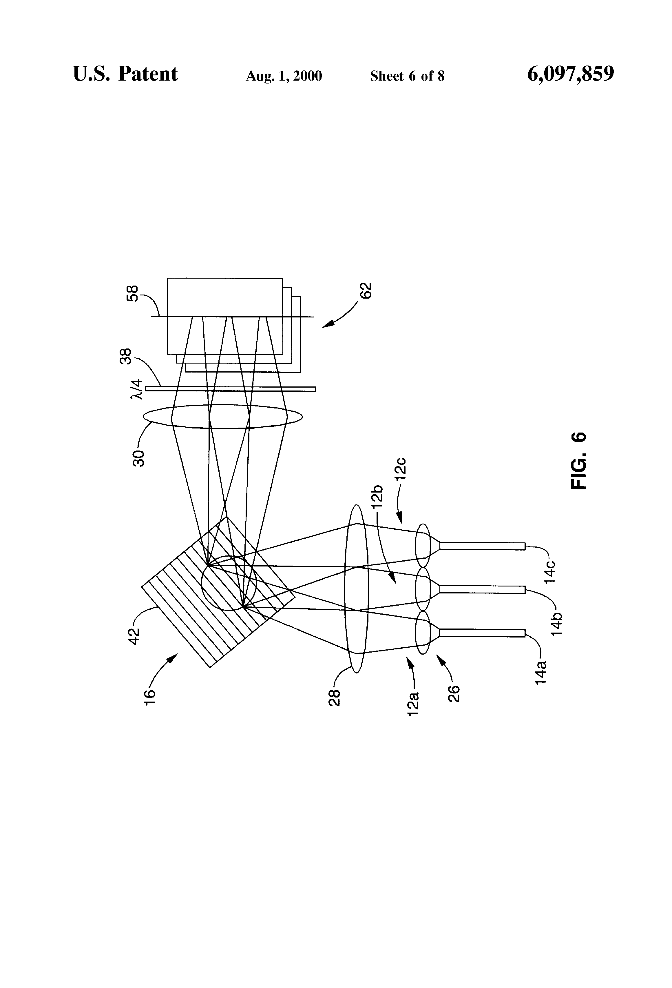 patent us6097859 - multi-wavelength cross-connect optical switch