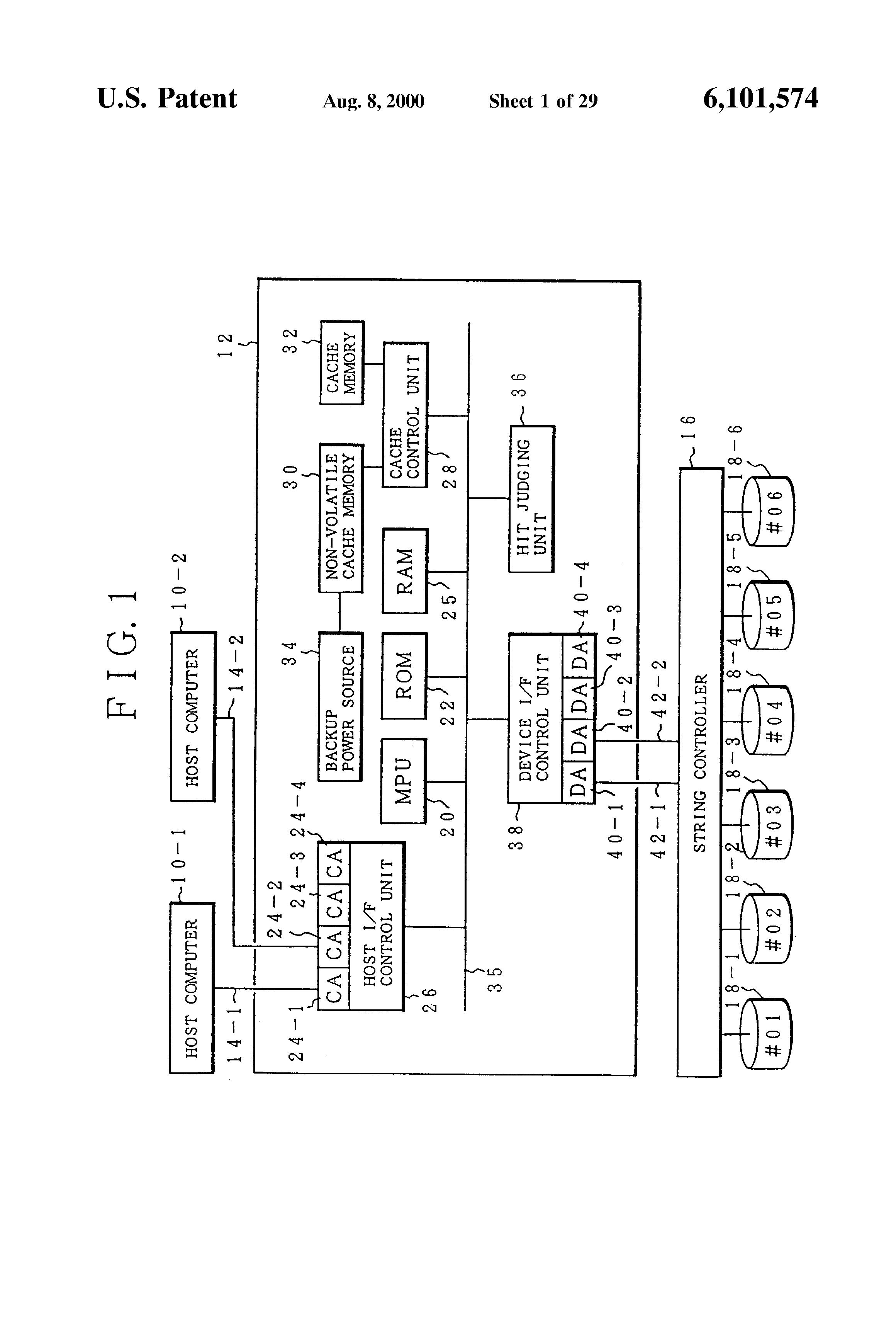 patent us6101574