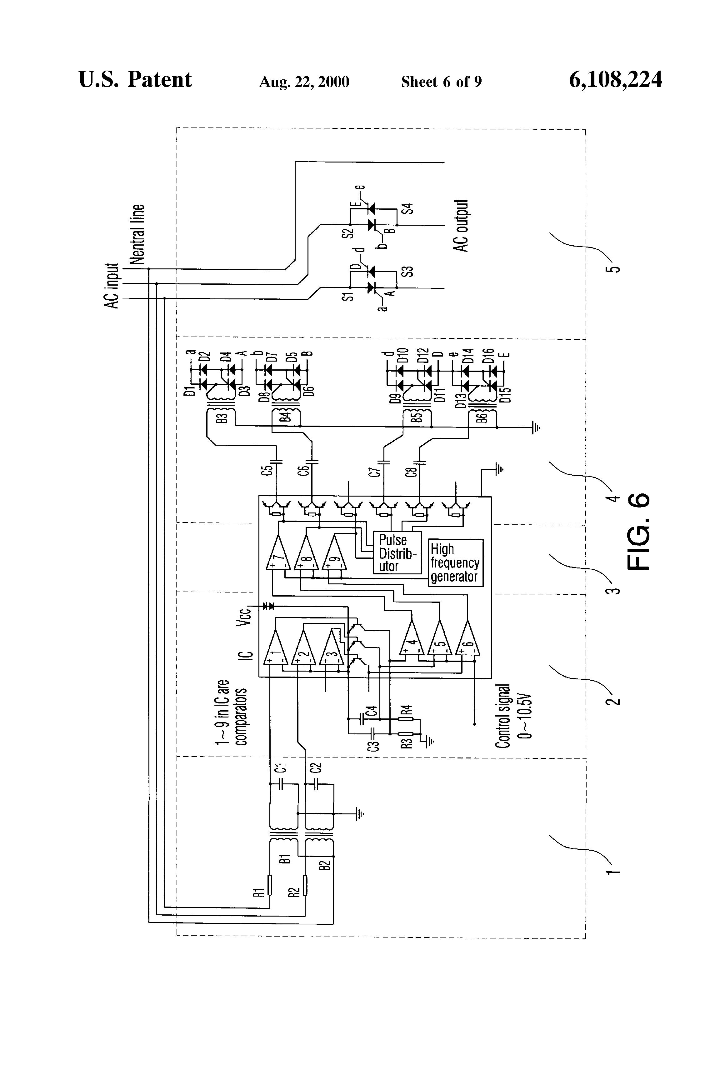 bridge type thyristor rectifier circuit basiccircuit