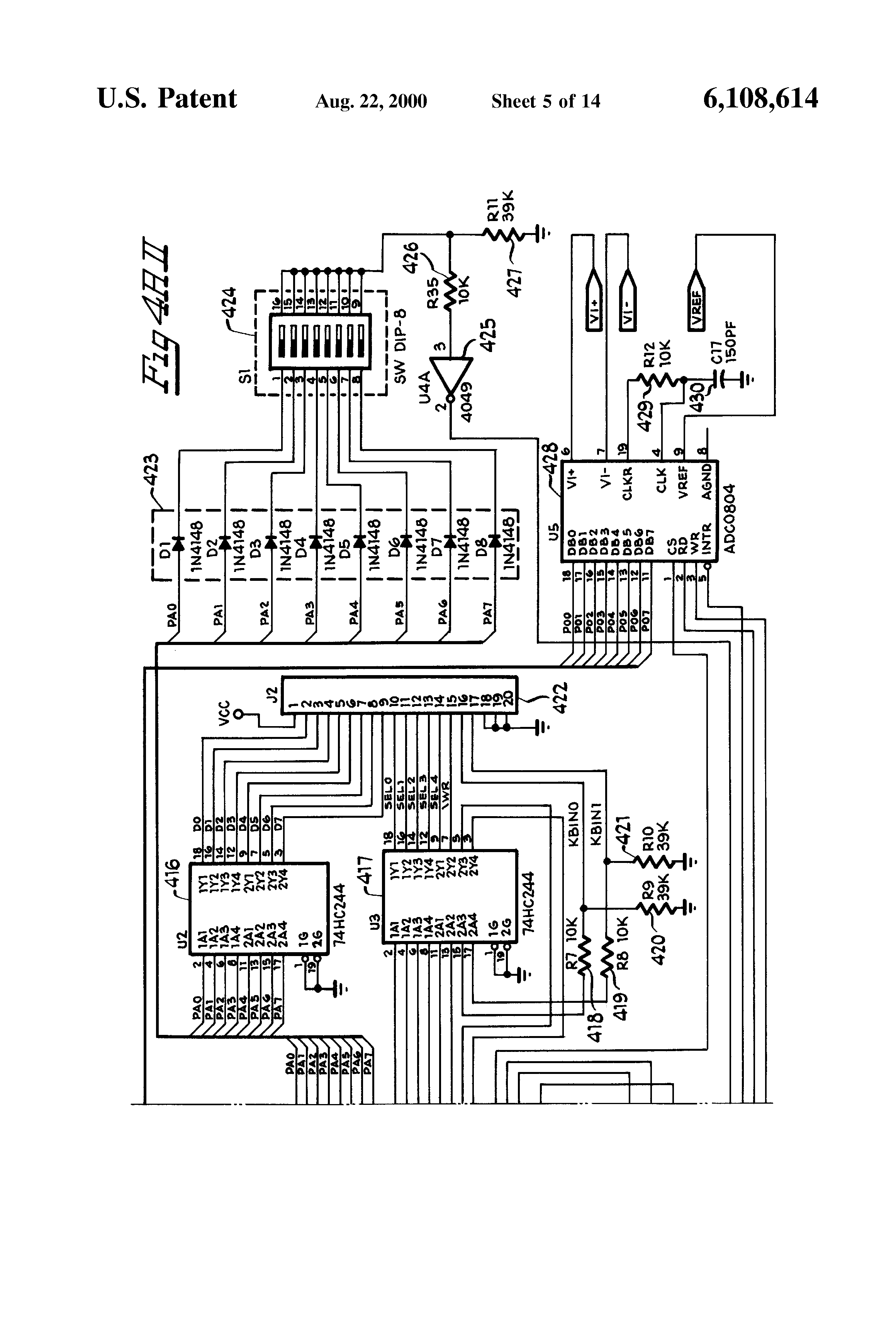 US6108614 5 patent us6108614 system and method for serial communication sel 451 wiring diagram at bakdesigns.co