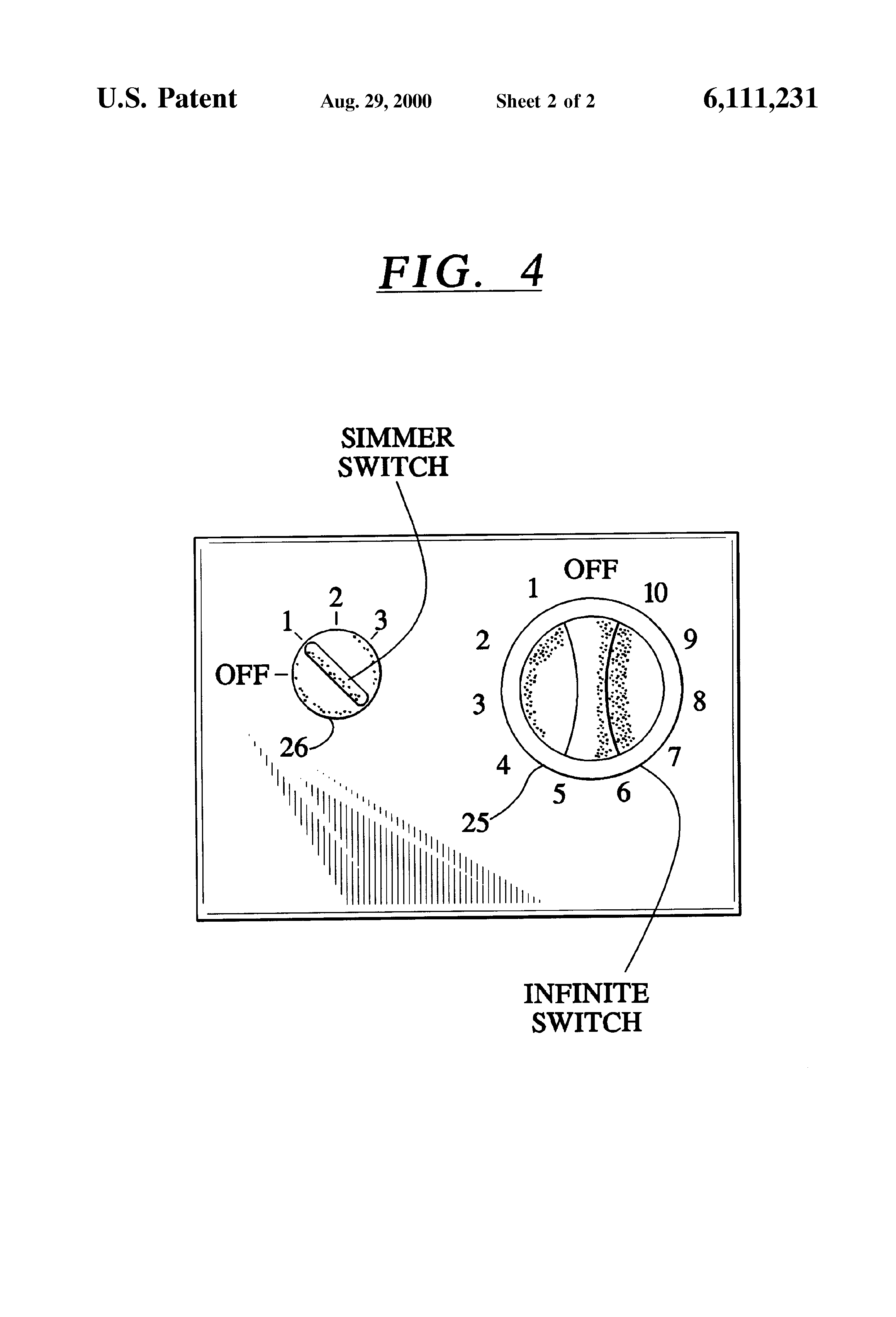 patent us6111231 temperature control system for an electric patent drawing