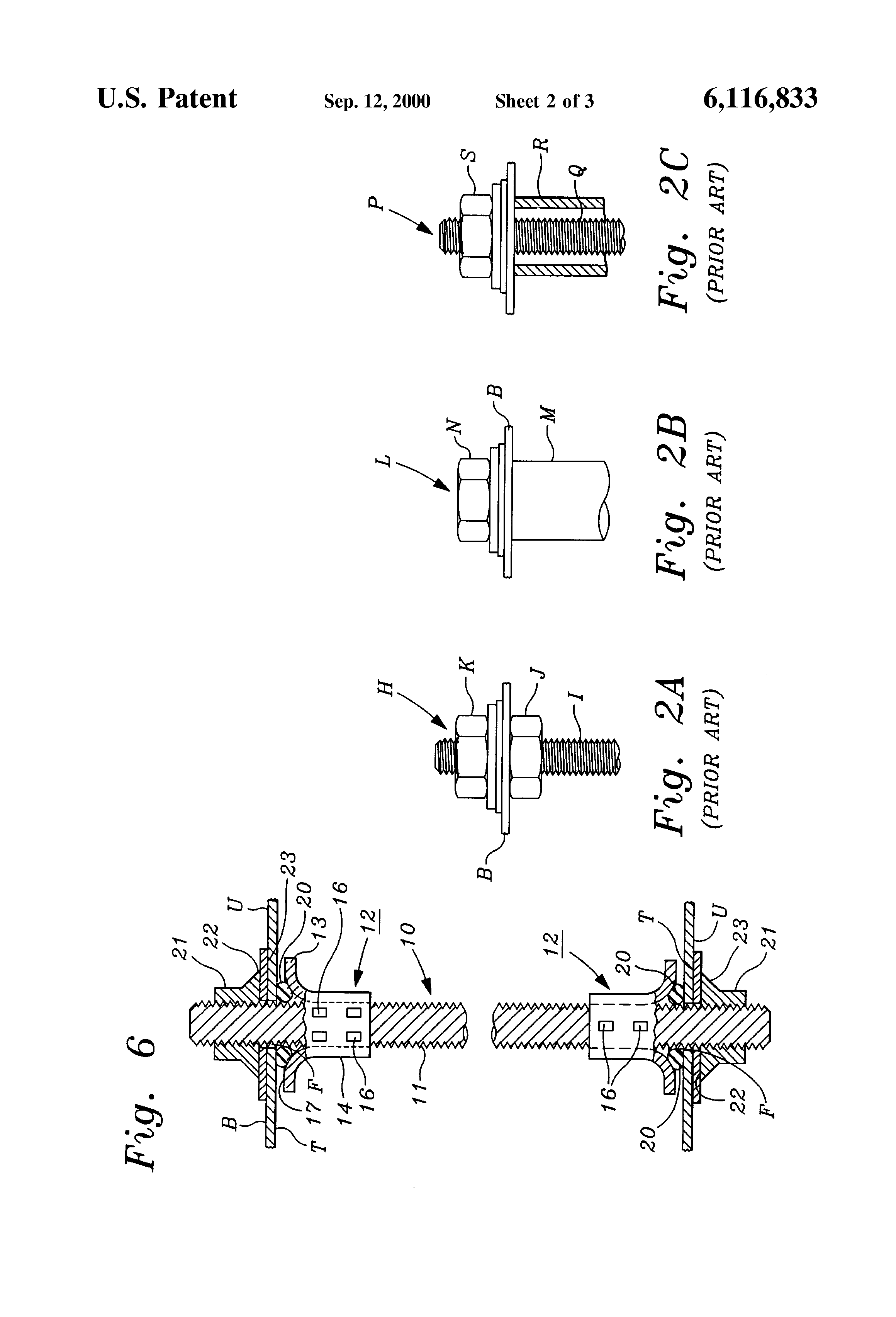Patent us self sealing reinforcement tie rod for