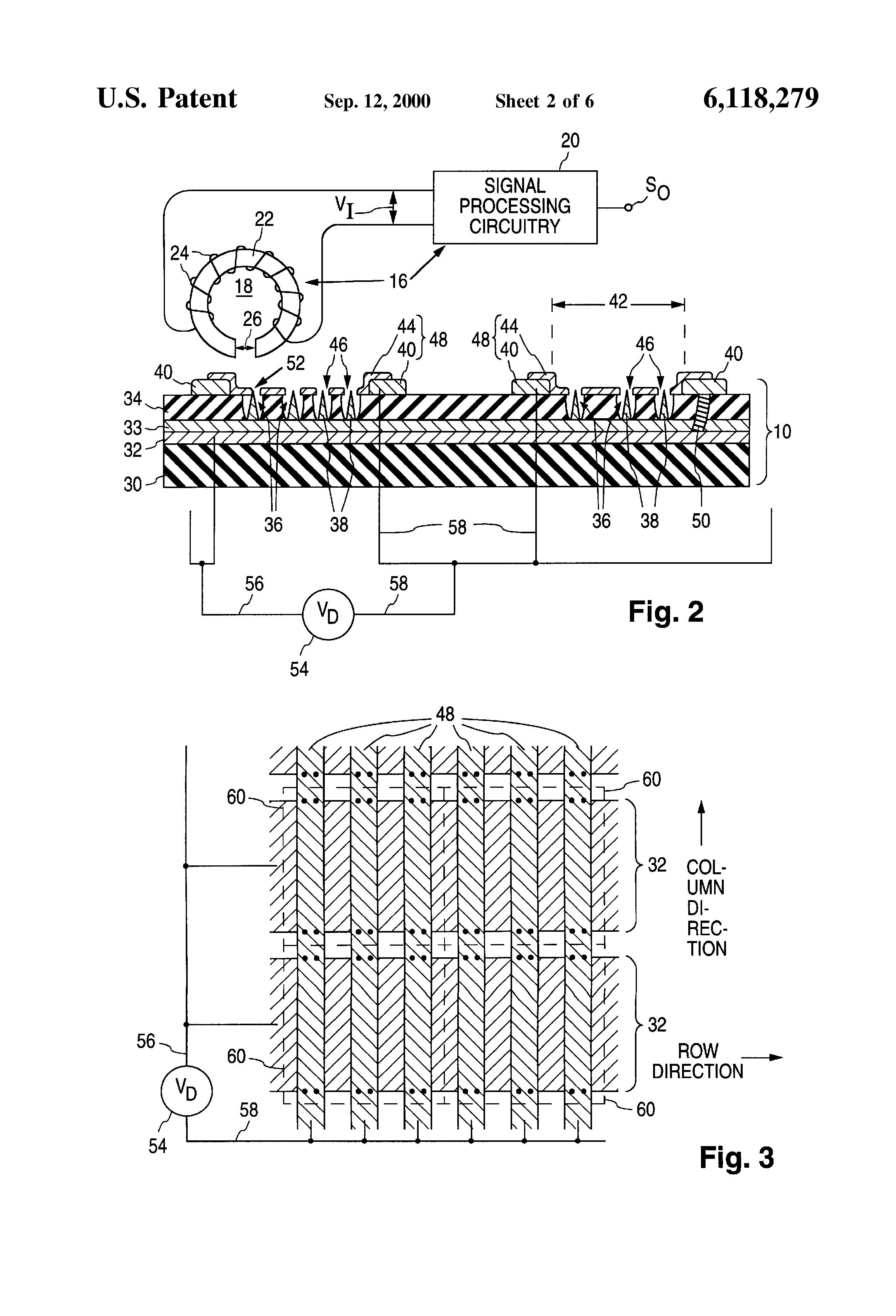 patent us6118279 - magnetic detection of short circuit defects in plate structure