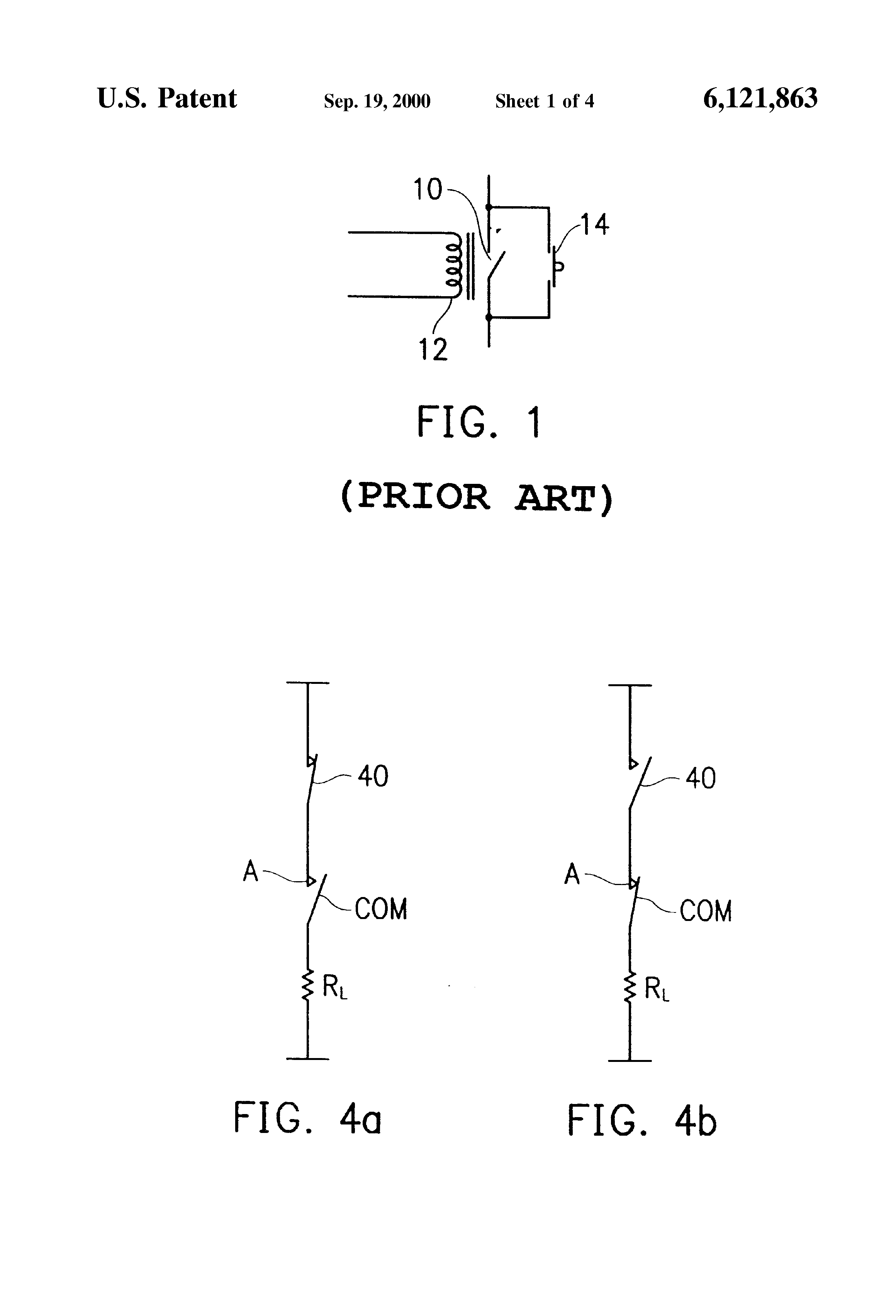 Patent US Latching Relay Having A Manual Reset Function - Two coil latching relay