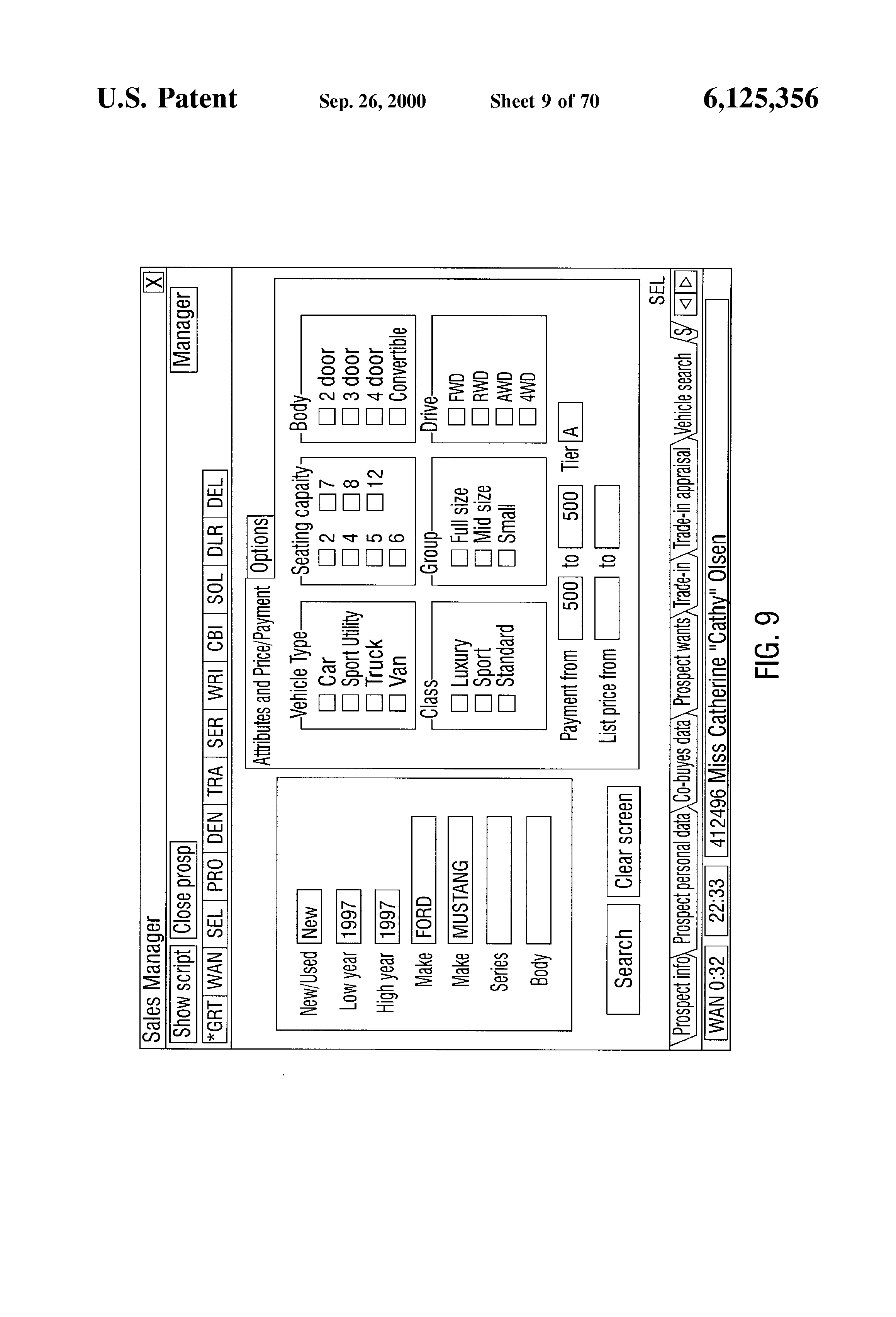 patent us portable s presentation system patent drawing