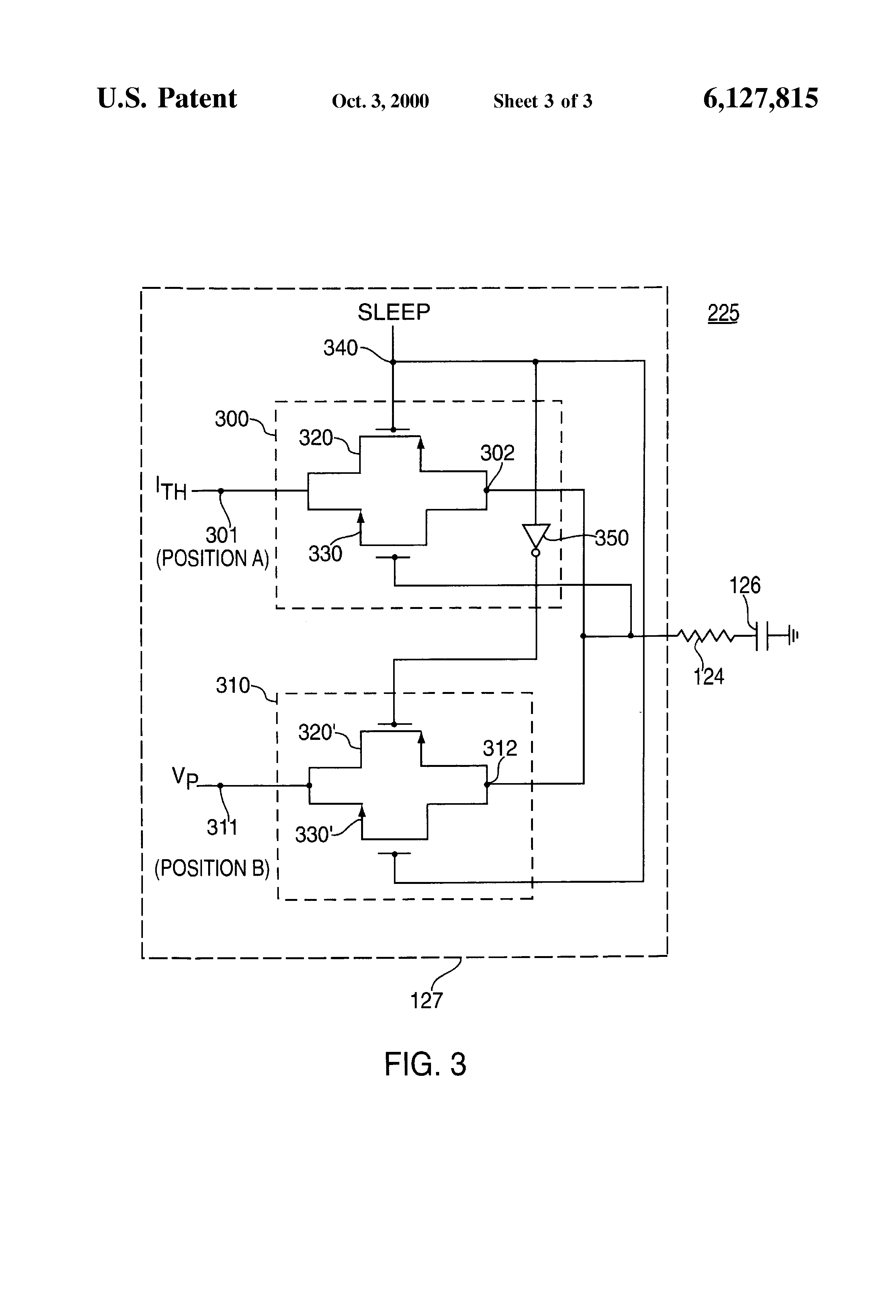 Patent Us6127815 Circuit And Method For Reducing Quiescent Current 5v 3a Switchingregulatorcircuit Powersupplycircuit Drawing
