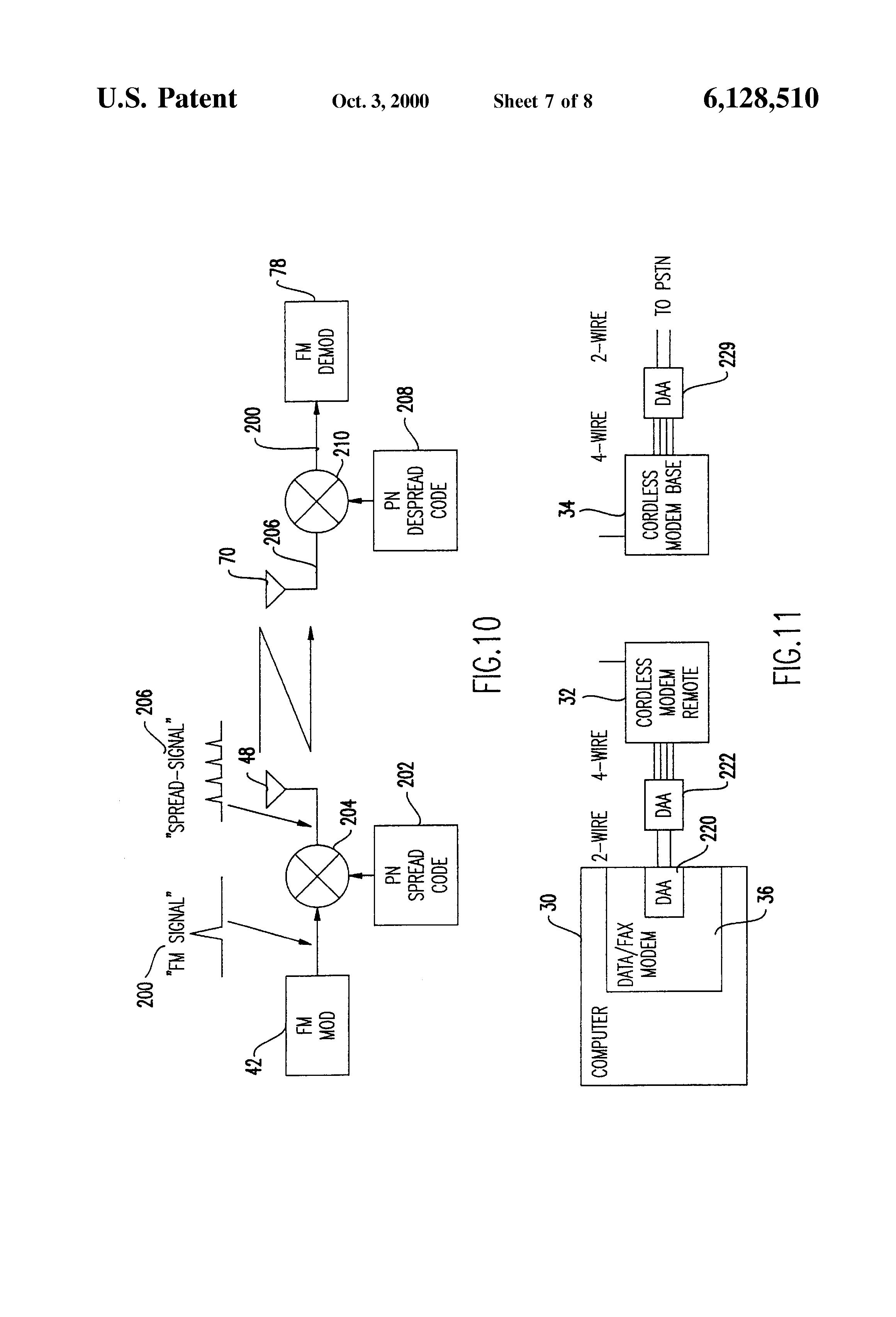 patent us6128510  fax