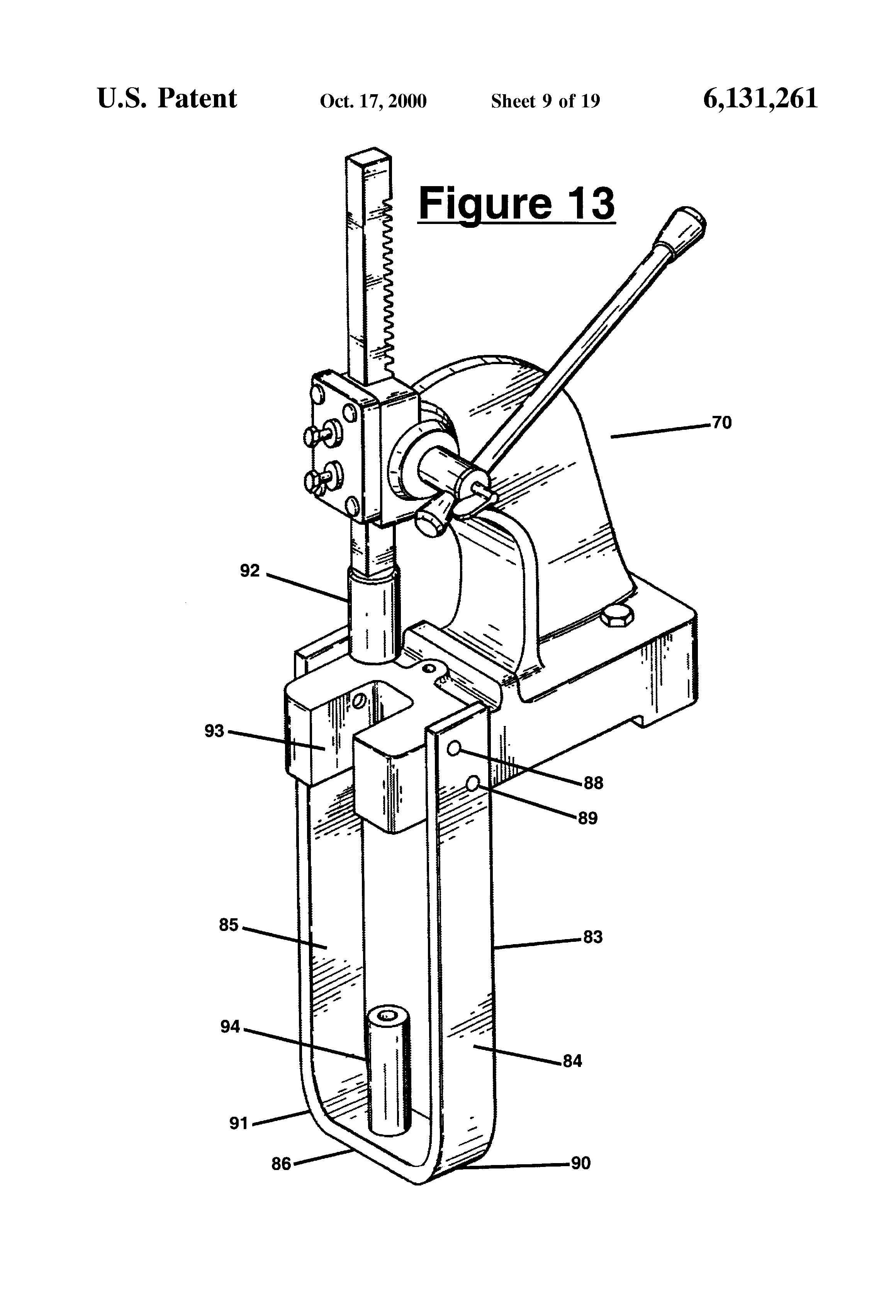 patent us6131261