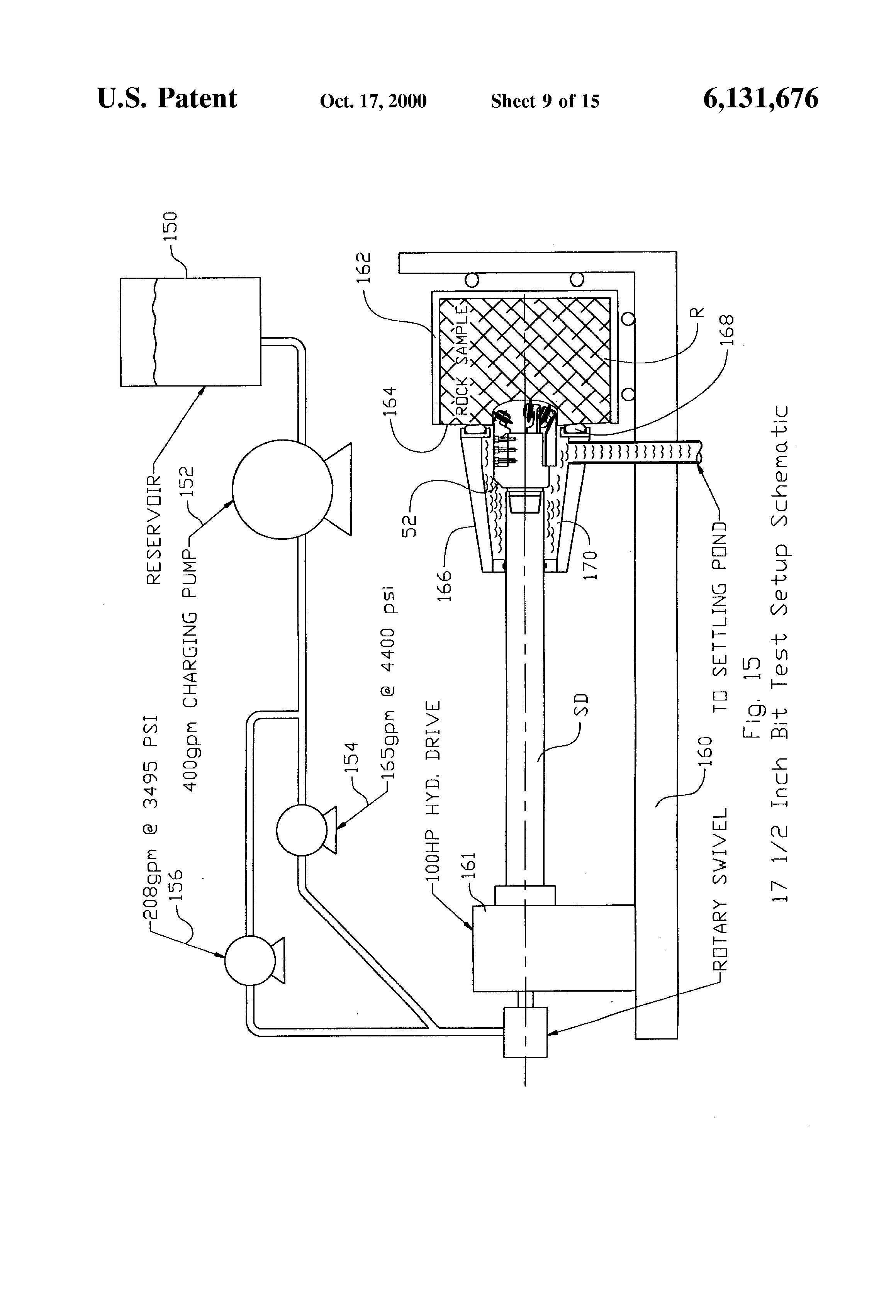 patent us6131676 - small disc cutter, and drill bits, cutterheads, Wiring diagram