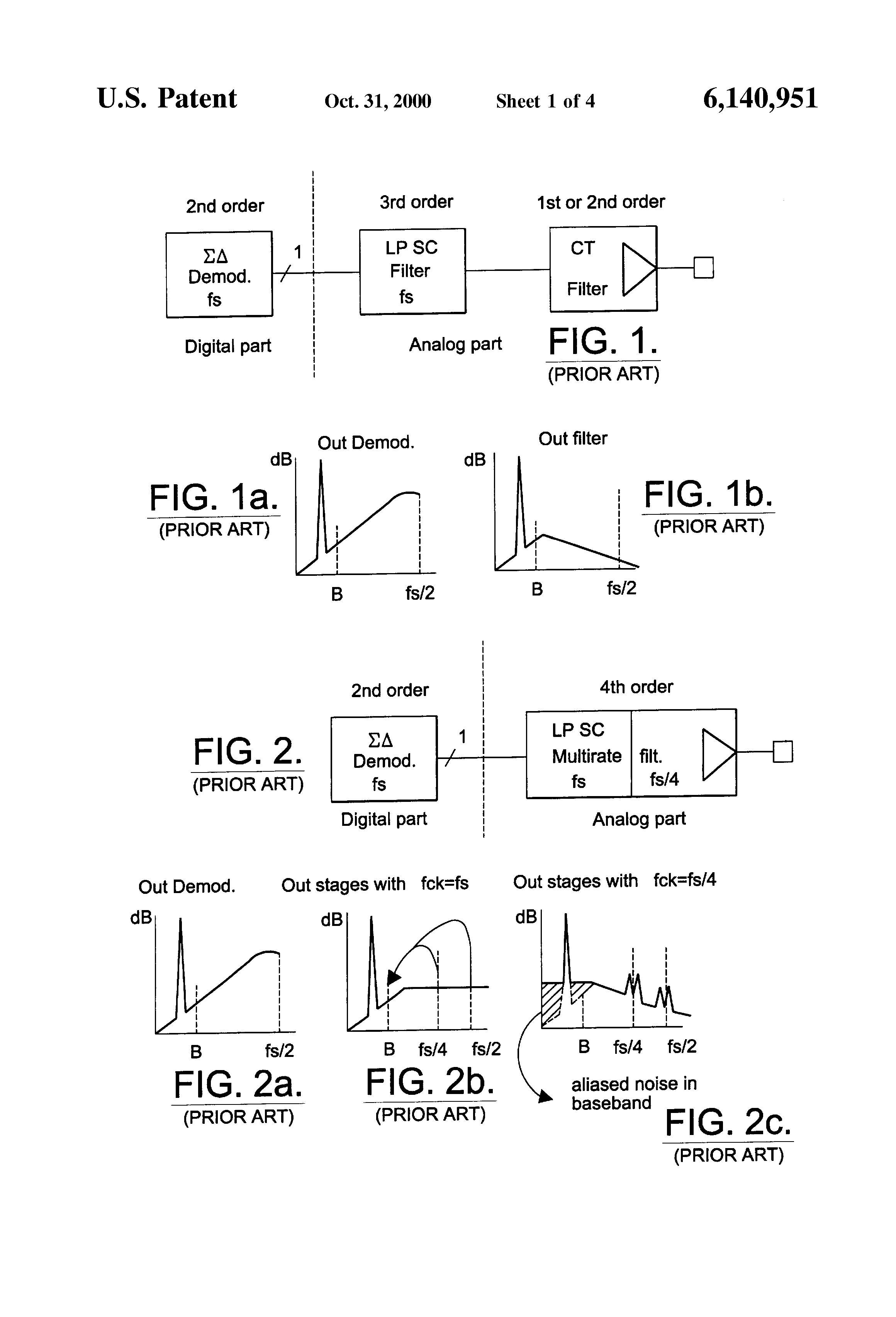Patent Us6140951 Double Sampled Switched Capacitor Low Pass Fourthorder Lowpass Filter Circuit Diagram Drawing