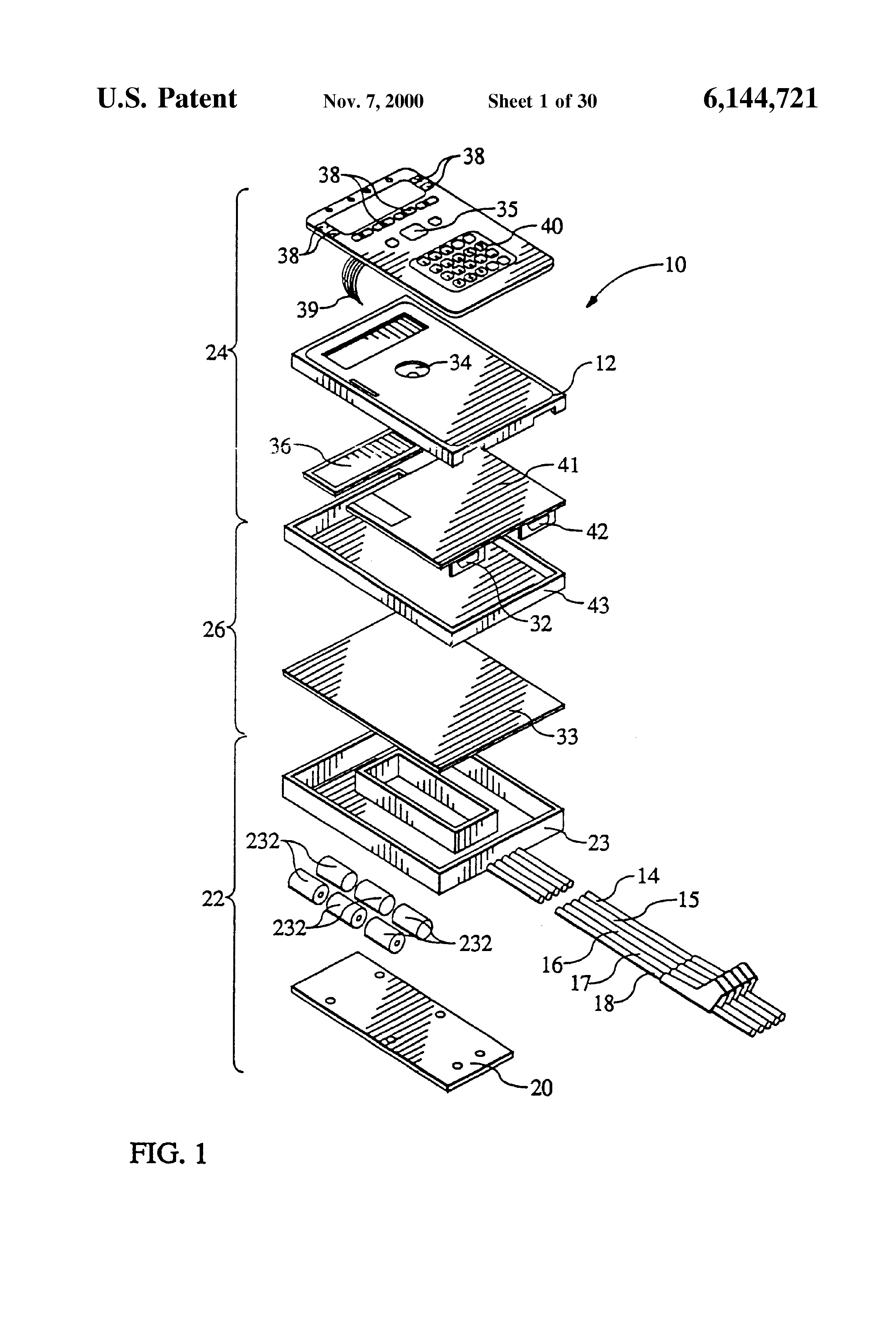 Patent Us6144721 Apparatus And Method For Line Pair Testing Dtmf Receiver Ic Mt8870 Tester Circuit Diagram Drawing