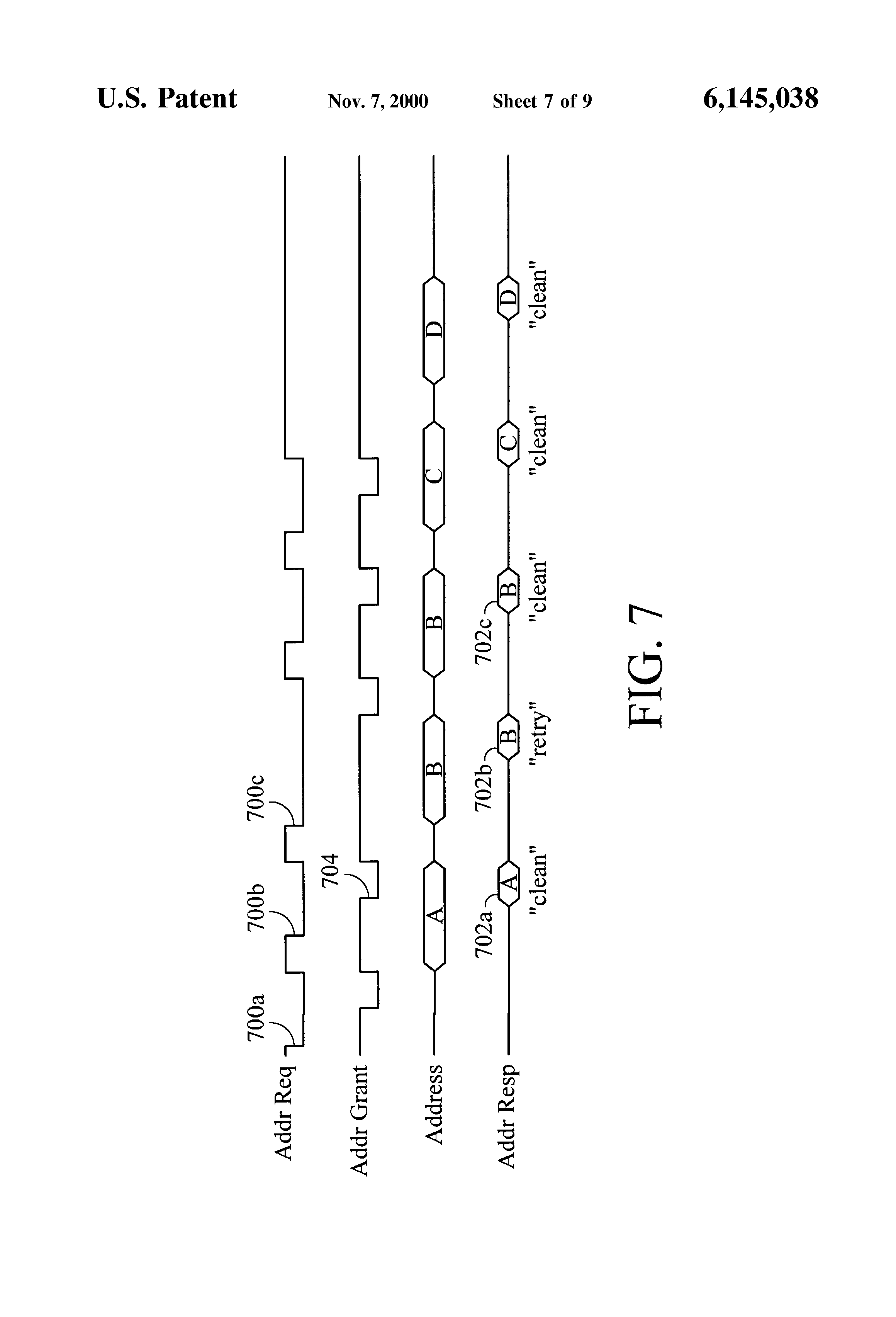 Patent Us6145038 Method And System For Early Slave Forwarding Of A B C Circuit Diagram Drawing