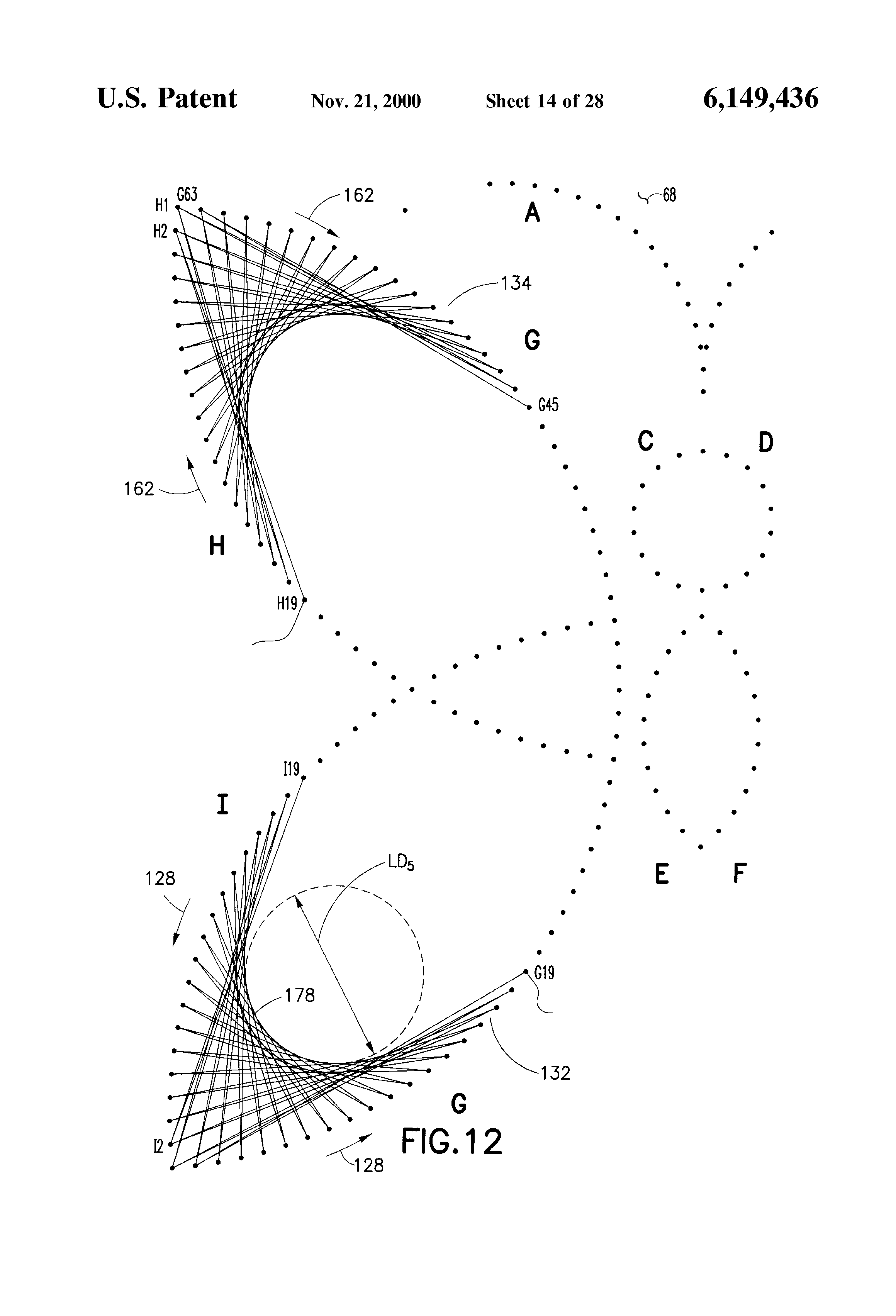 String Art Patterns Patent Us6149436 String Art Device Google Patents