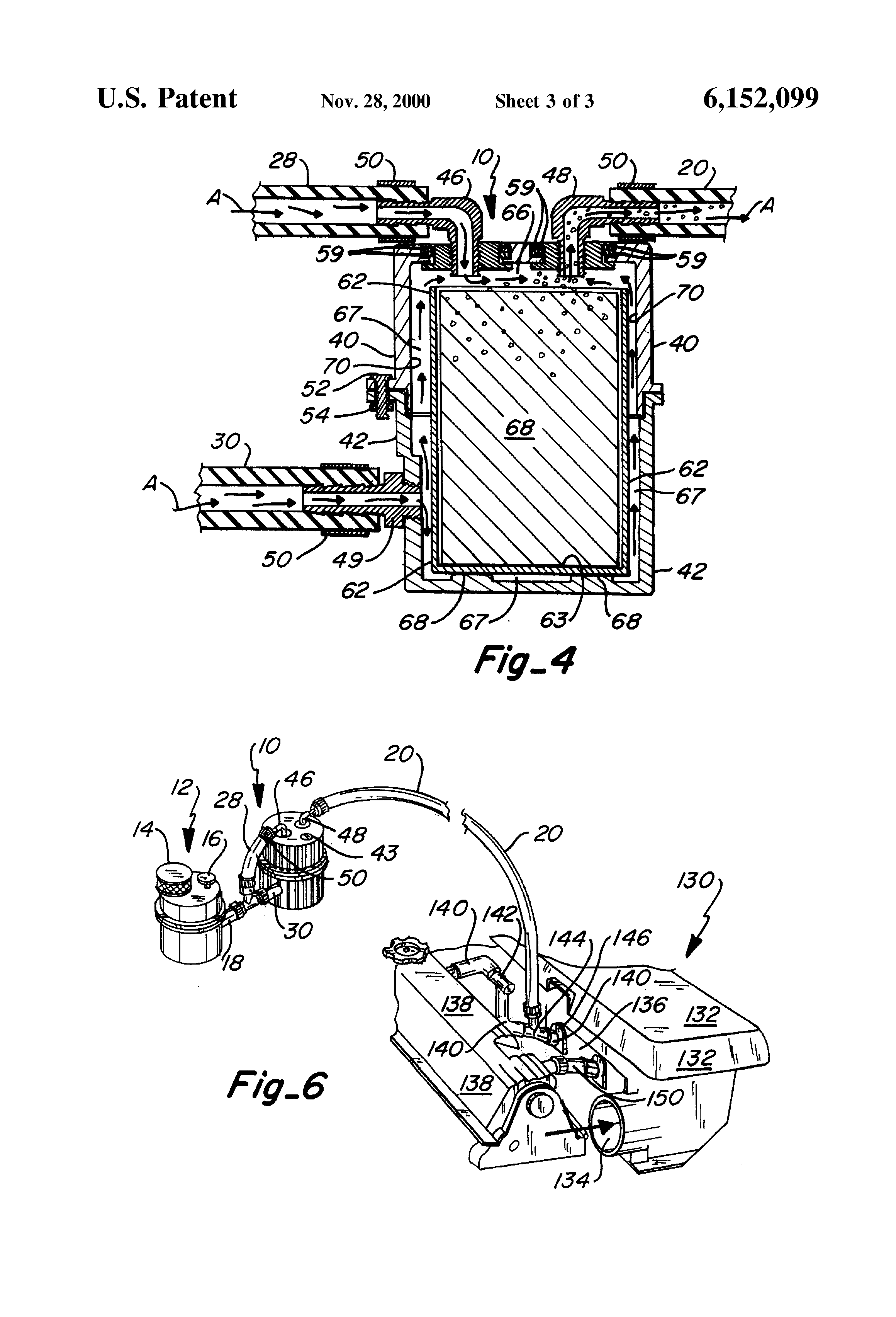 Patent Us6152099 Apparatus And Method Of Supplying Additive To Chevy 3400 Engine Diagram Drawing