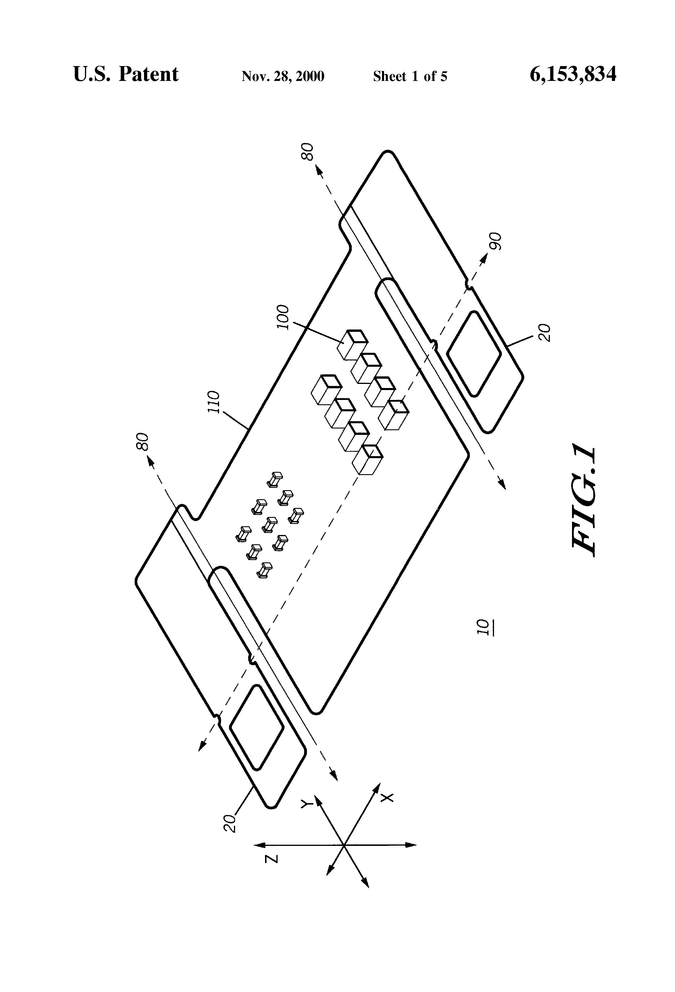 patent us6153834