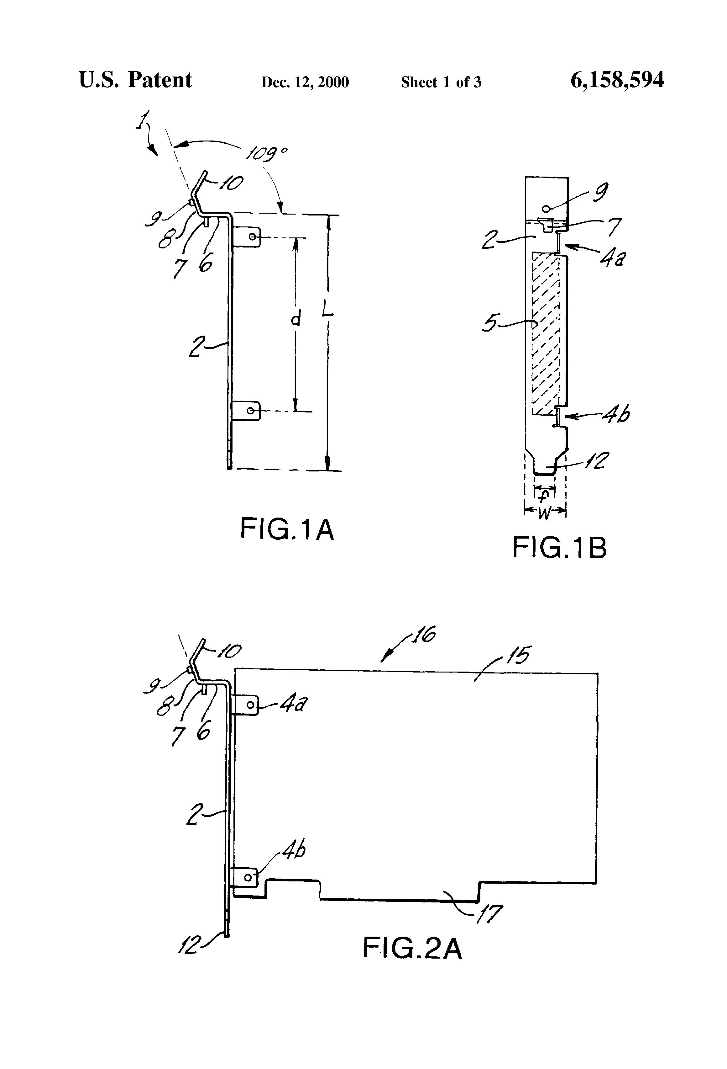 patent us6158594