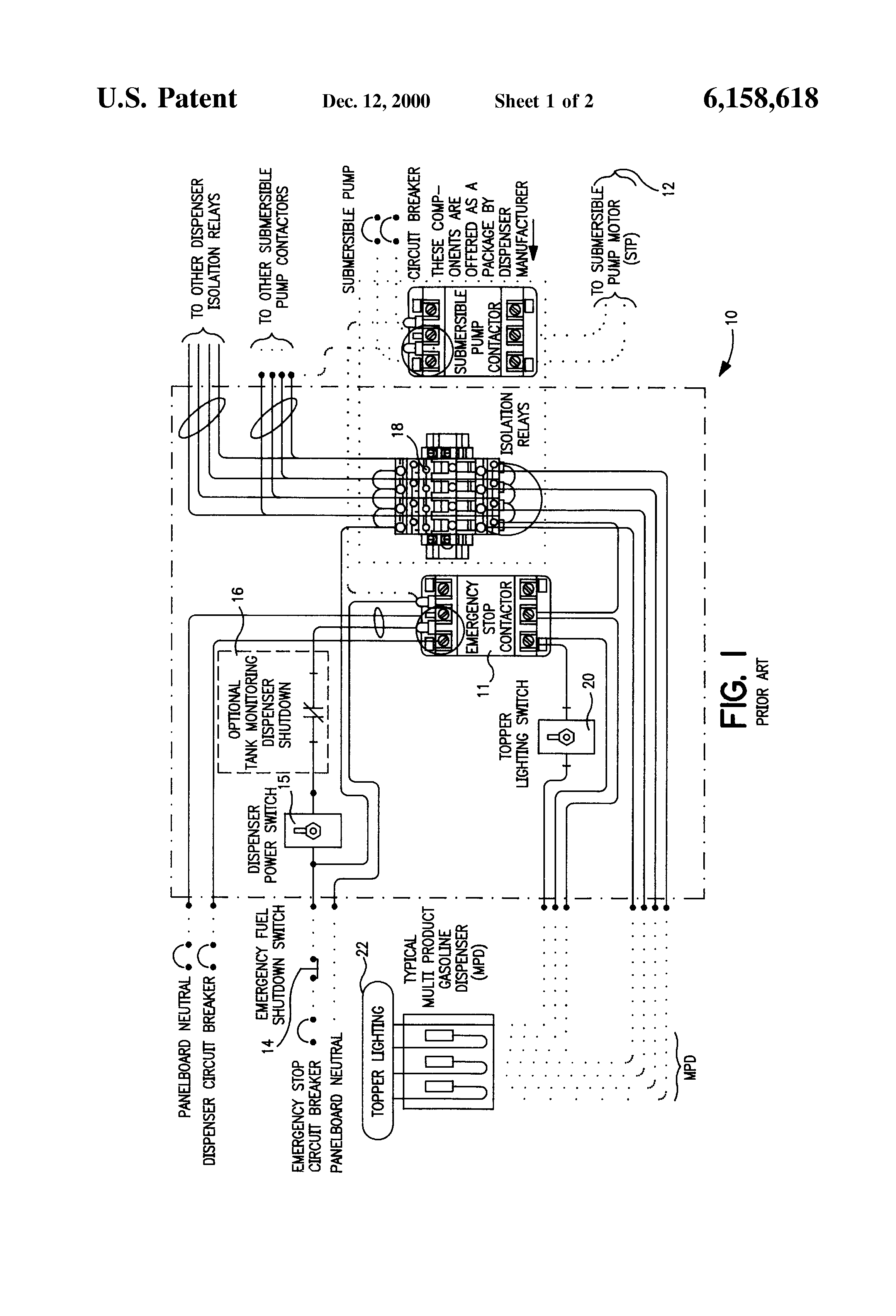 US6158618 1 patent us6158618 control circuit for multi product fuel gilbarco advantage wiring diagram at arjmand.co