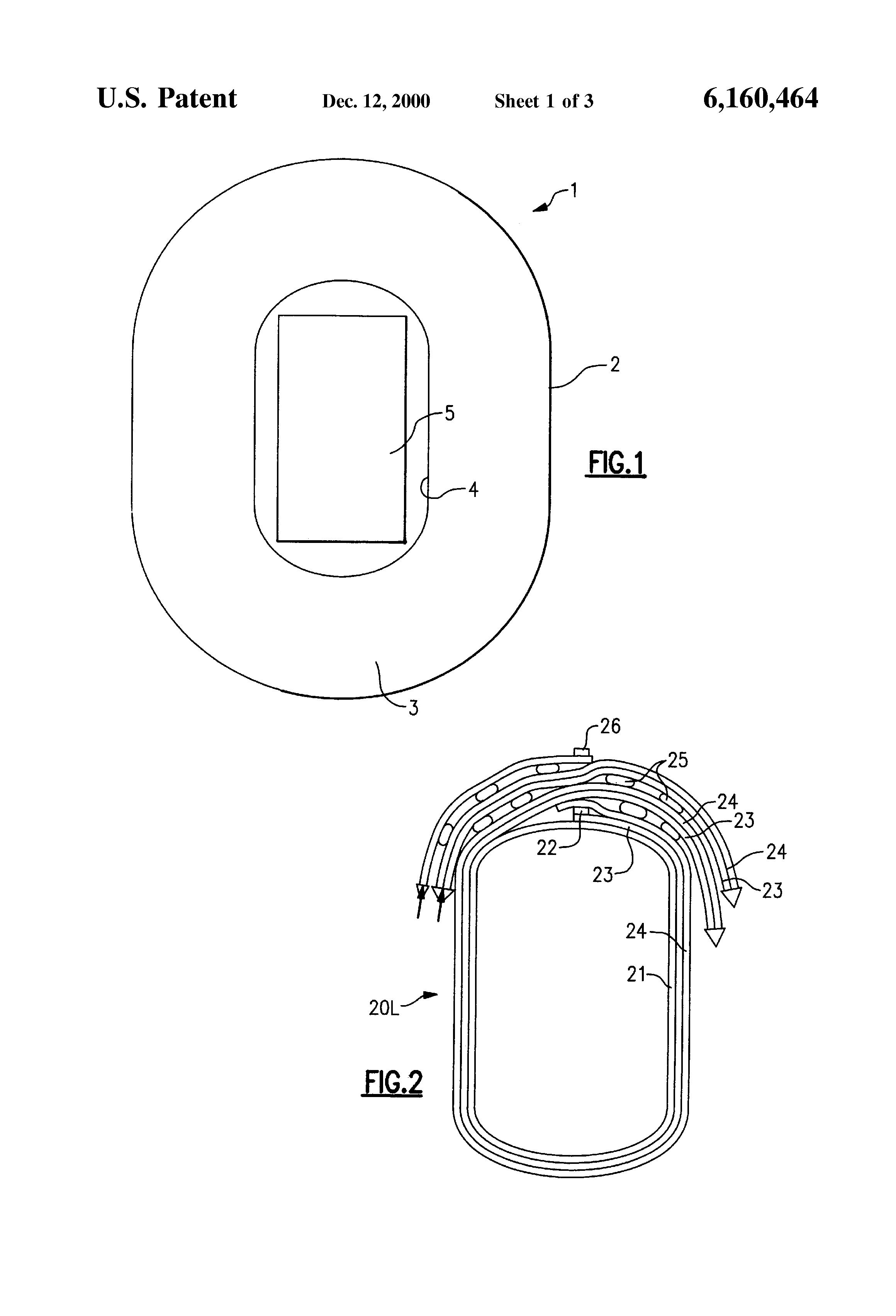 patent us6160464