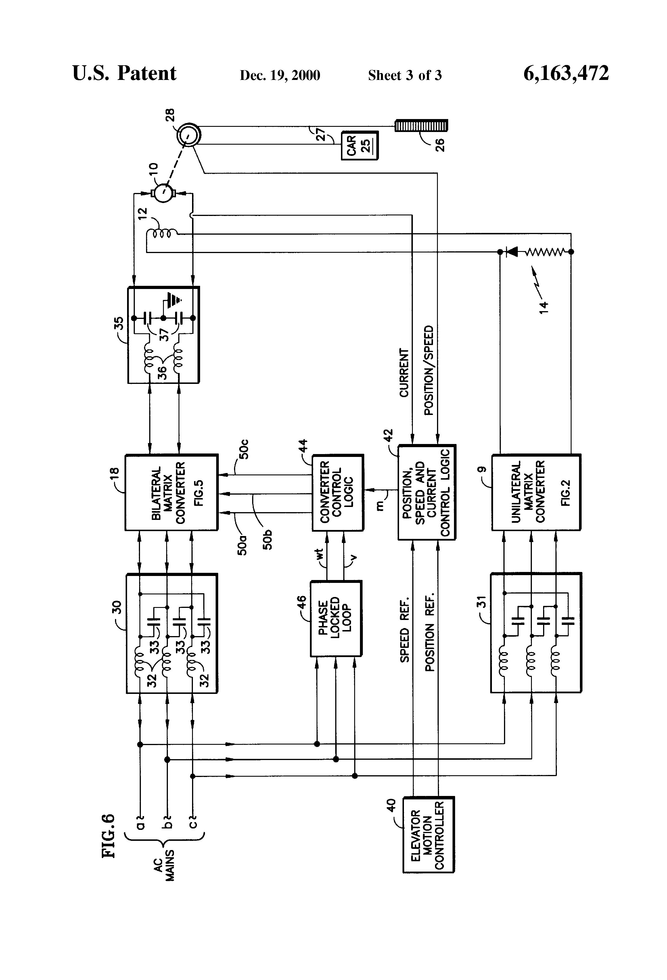 US6163472 3 patent us6163472 elevator dc motor drive with unity power factor 347 lighting wiring diagram at eliteediting.co