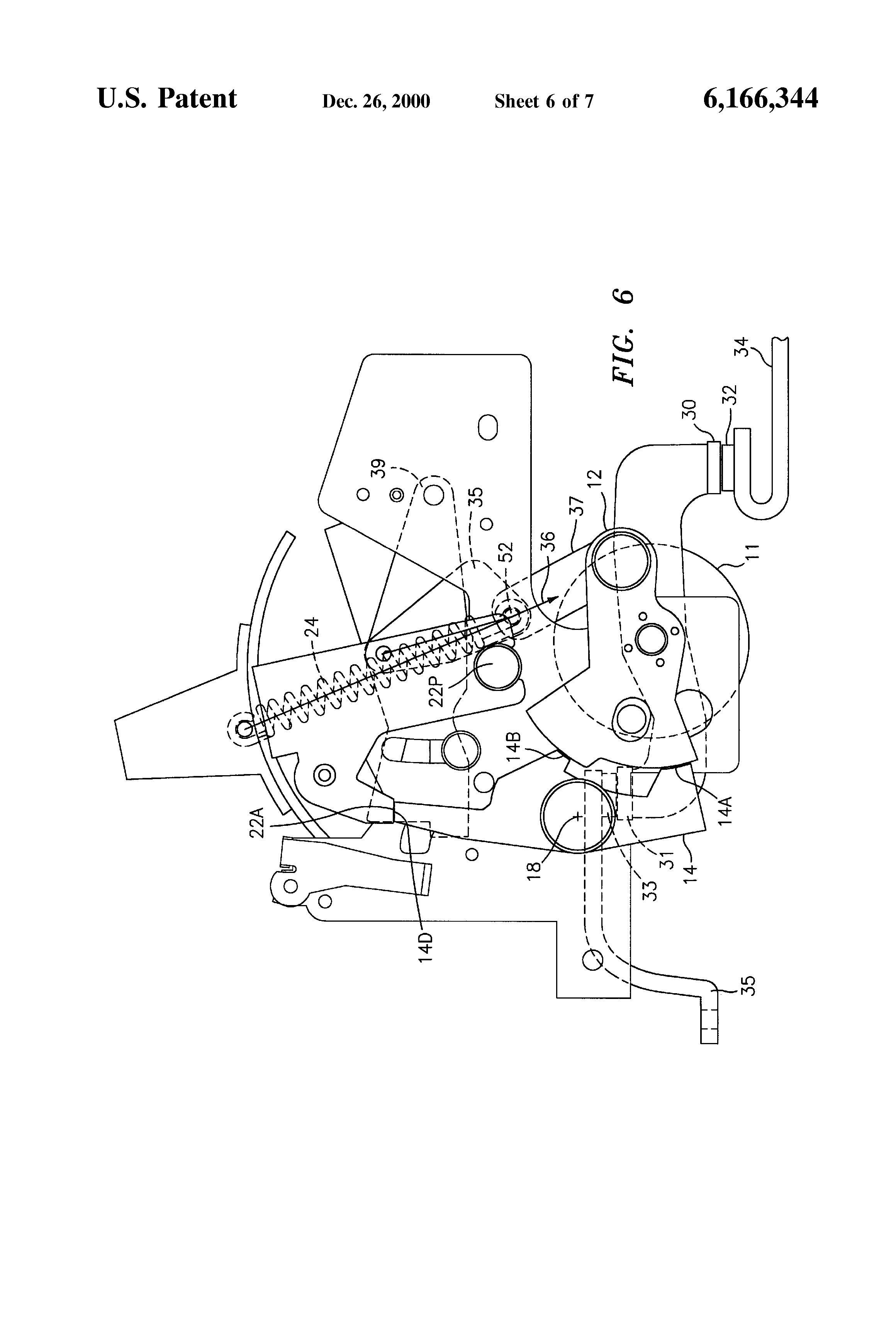 patent us6166344 - circuit breaker handle block