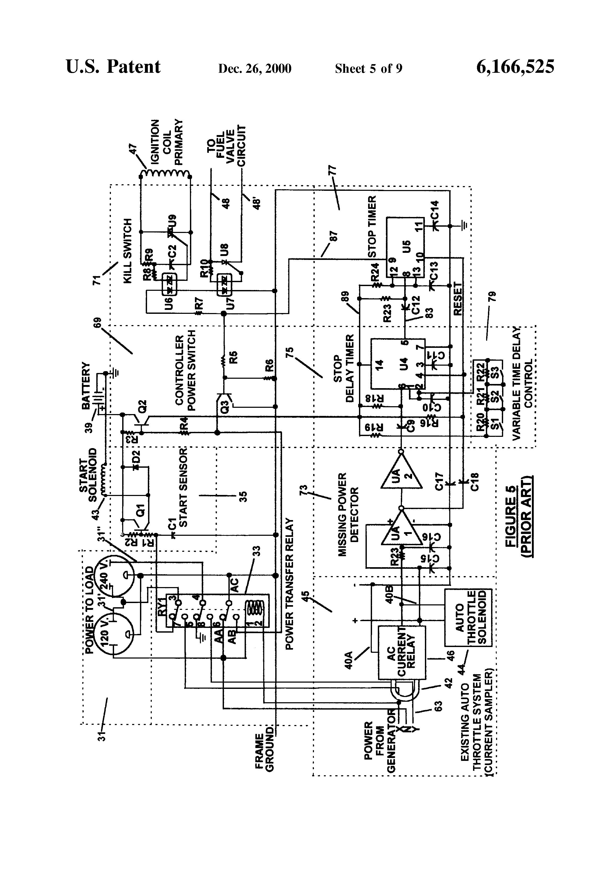 electrical diagram honda eu3000is