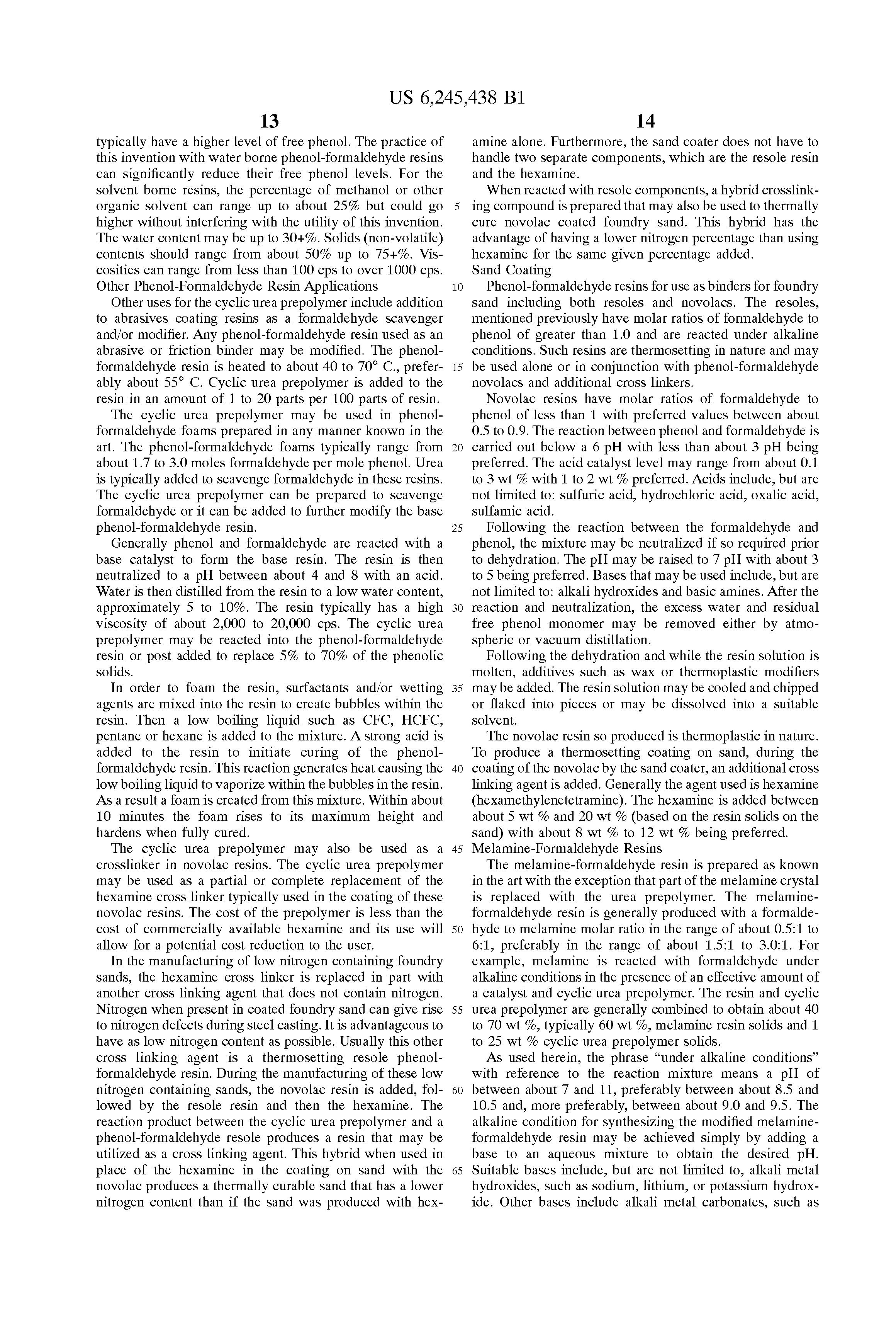 preparation of phenol formaldehyde resin pdf