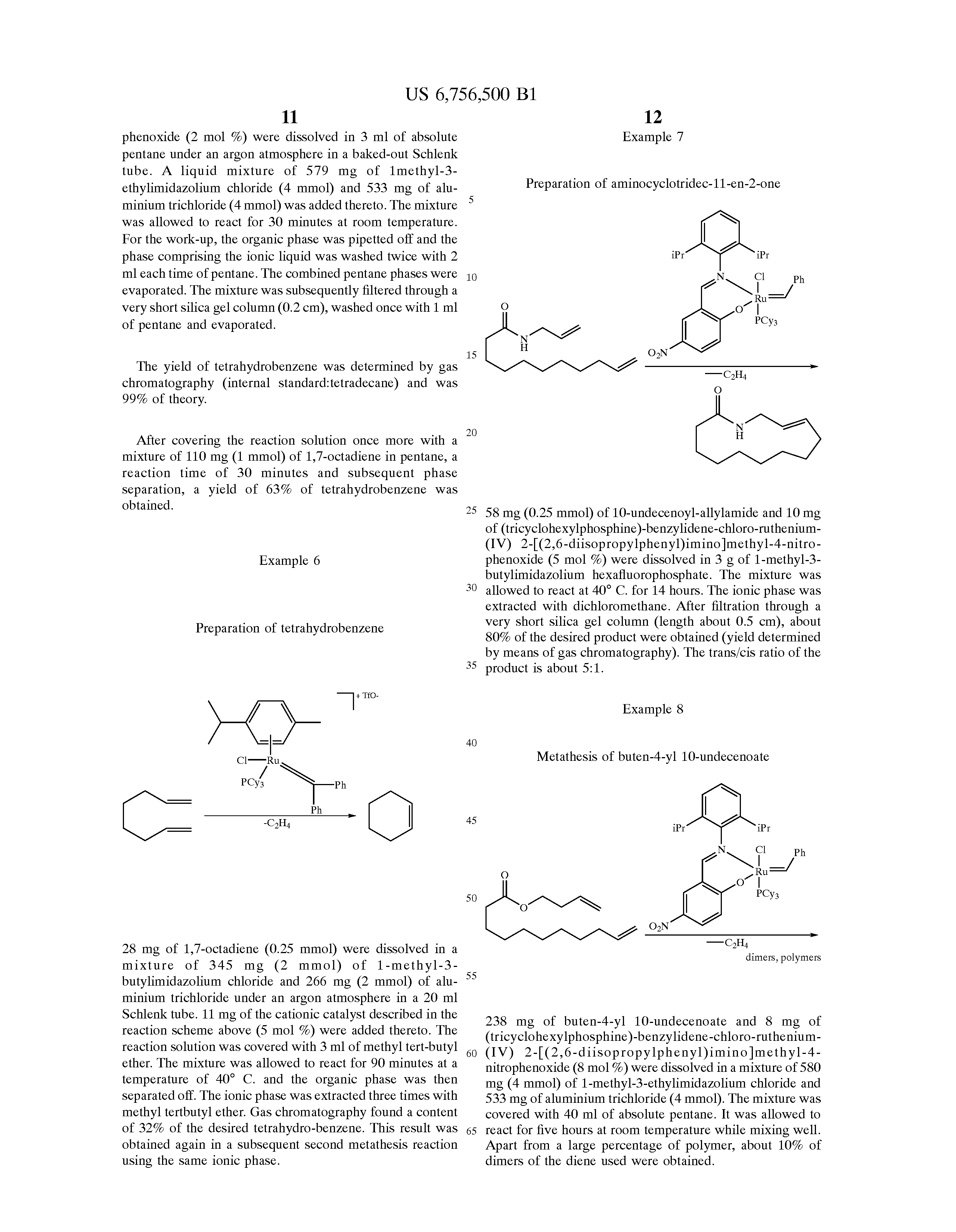 """olefin metathesis reactions of sulfur-containing alkenes and dienes Are examples of olefin metathesis in peptidic systems and in aqueous  for a reaction to be generally useful for protein modification, it must be  tain an alkene tirrell and  or acetone in water to aid aqueous rcm of several dienes and self metathe-  with sulfur-containing substrates, fürstner suggested """"a quite general."""