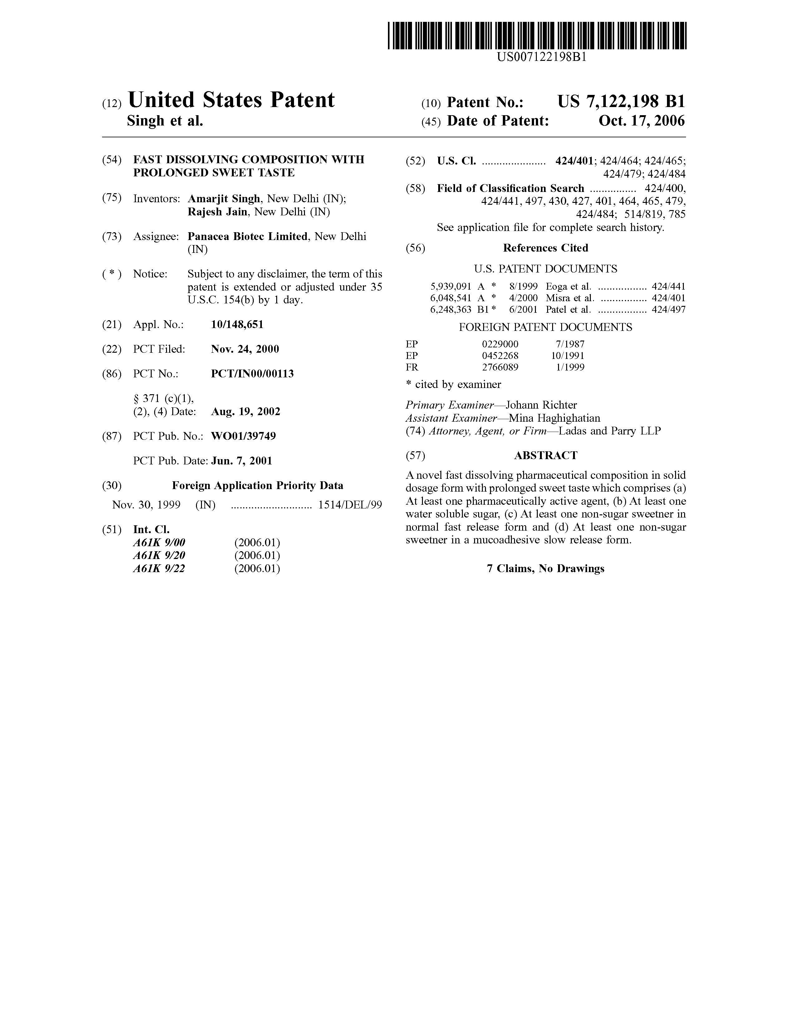 Dydrogesterone patent expiration