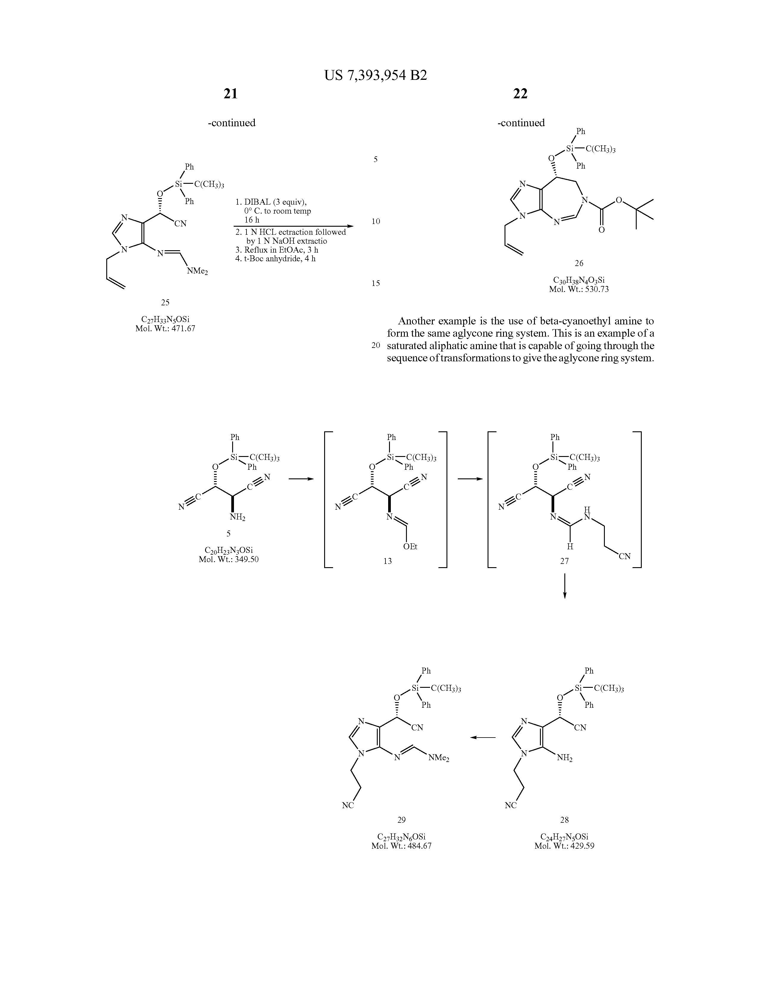 Patent US7393954 - Process for the production of pentostatin ...