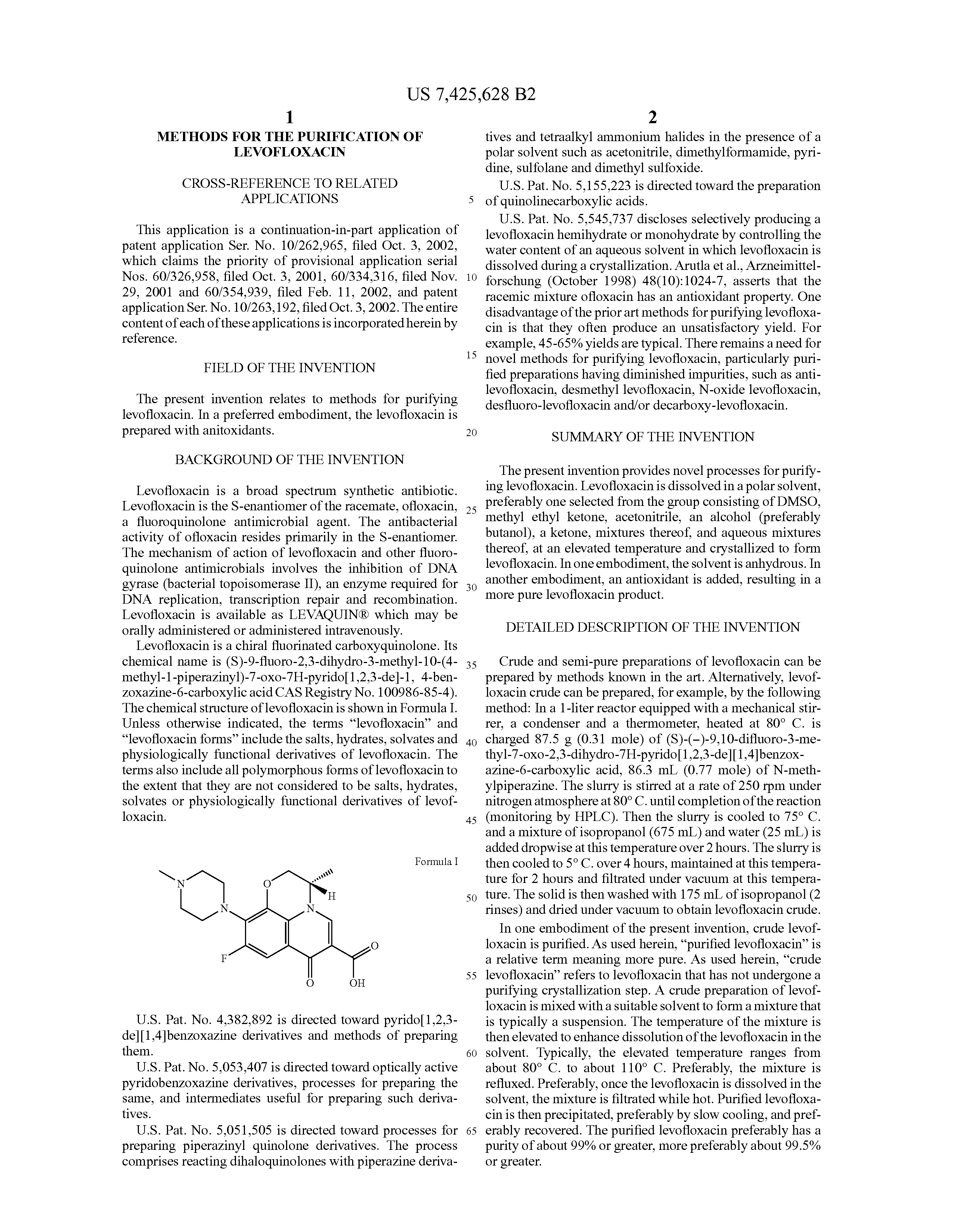Levaquin 500 mg and alcohol.doc - Patent Drawing
