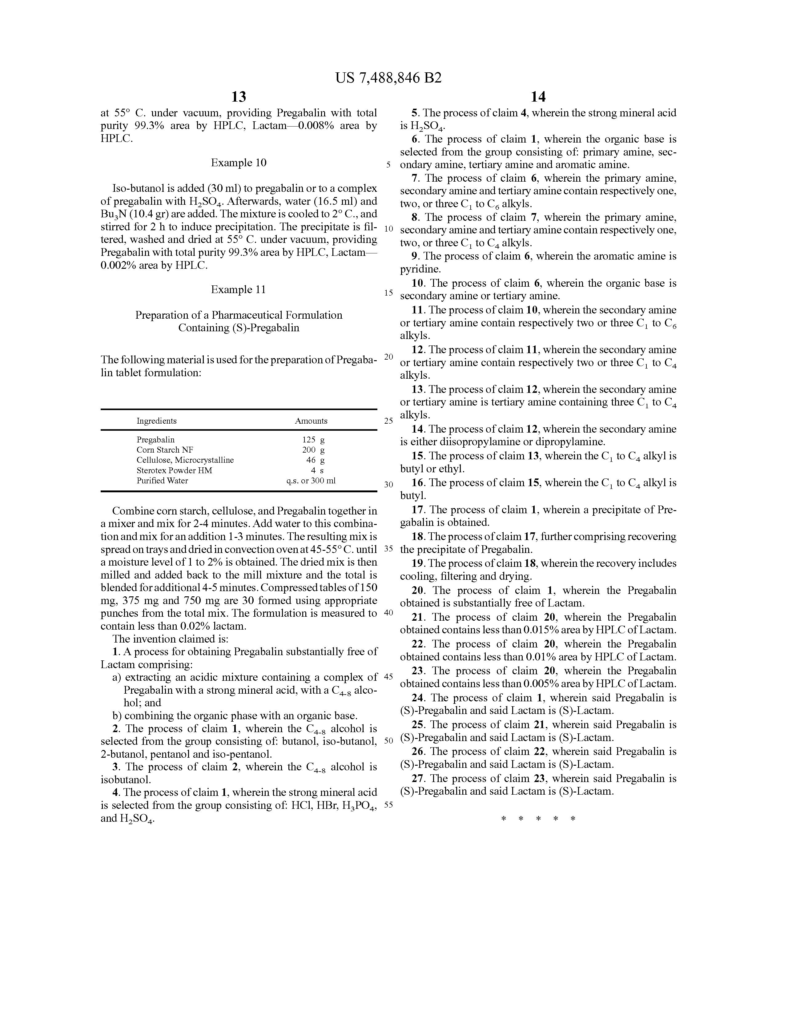 process synthesis pregabalin vs gabapentin