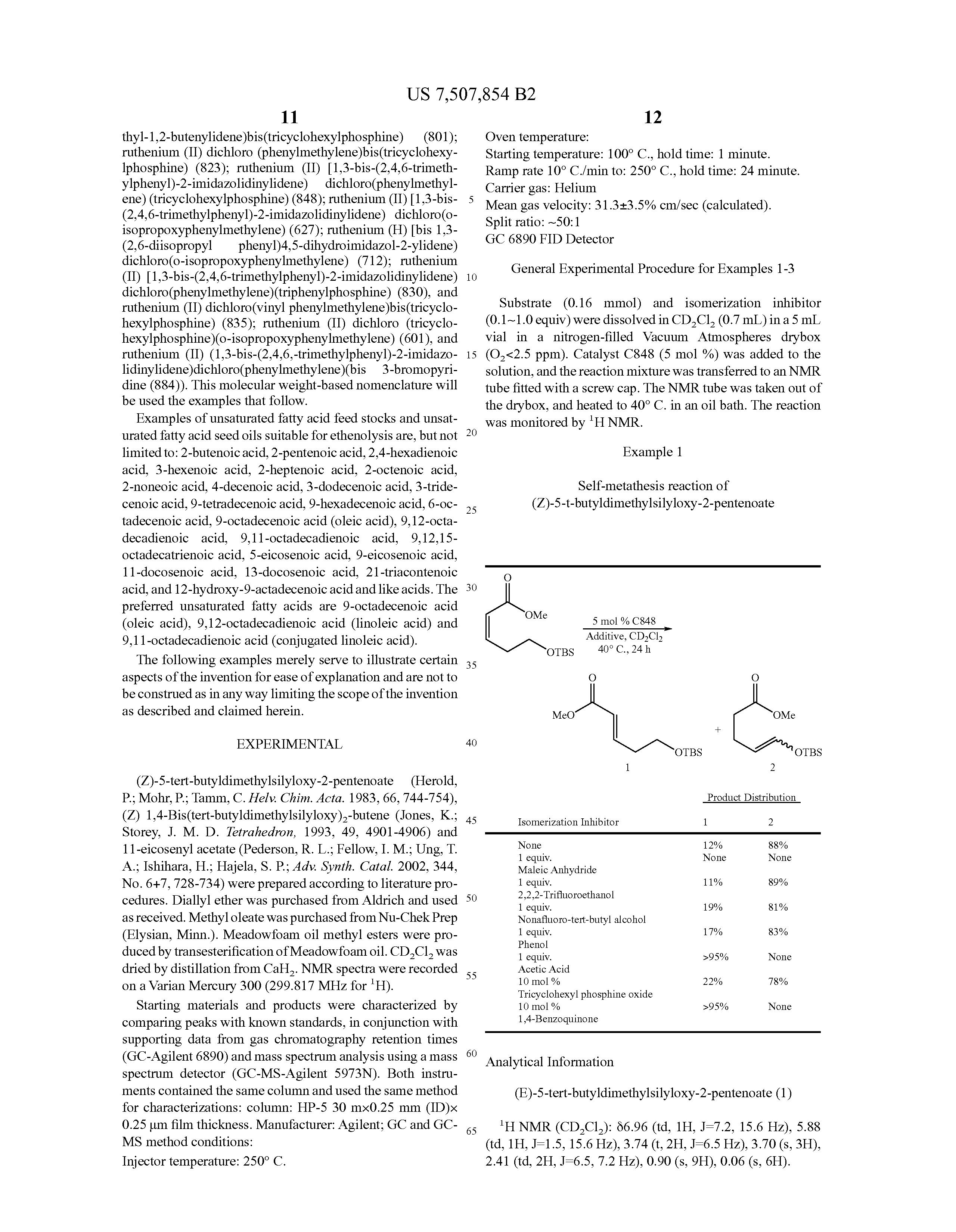 metathesis reactions of fatty acid esters 1 prog lipid res 198524(3):243-67 metathesis reactions of fatty acid esters boelhouwer c, mol jc pmid: 3916241 [pubmed - indexed for medline.