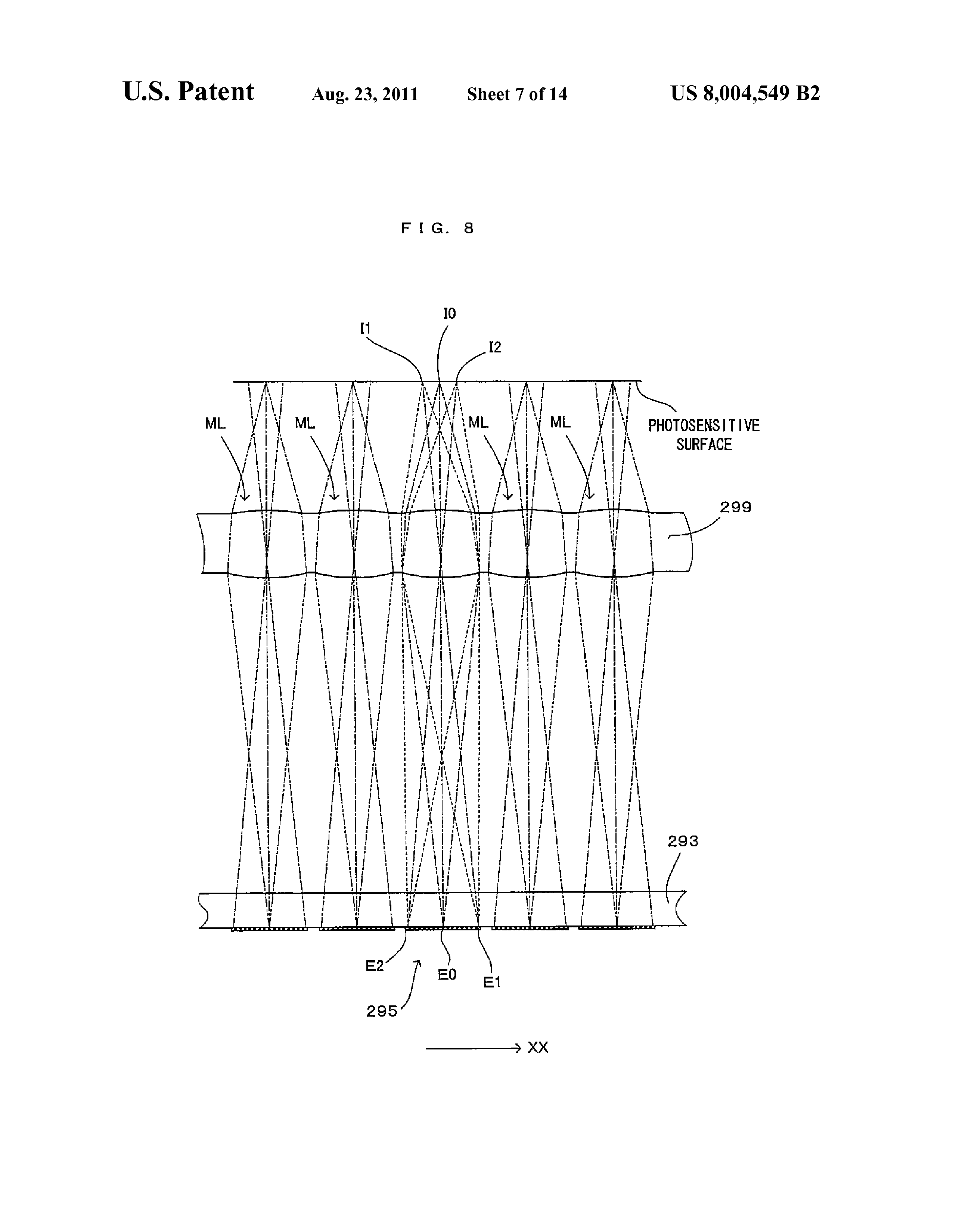 line head and an image forming apparatus using the line head