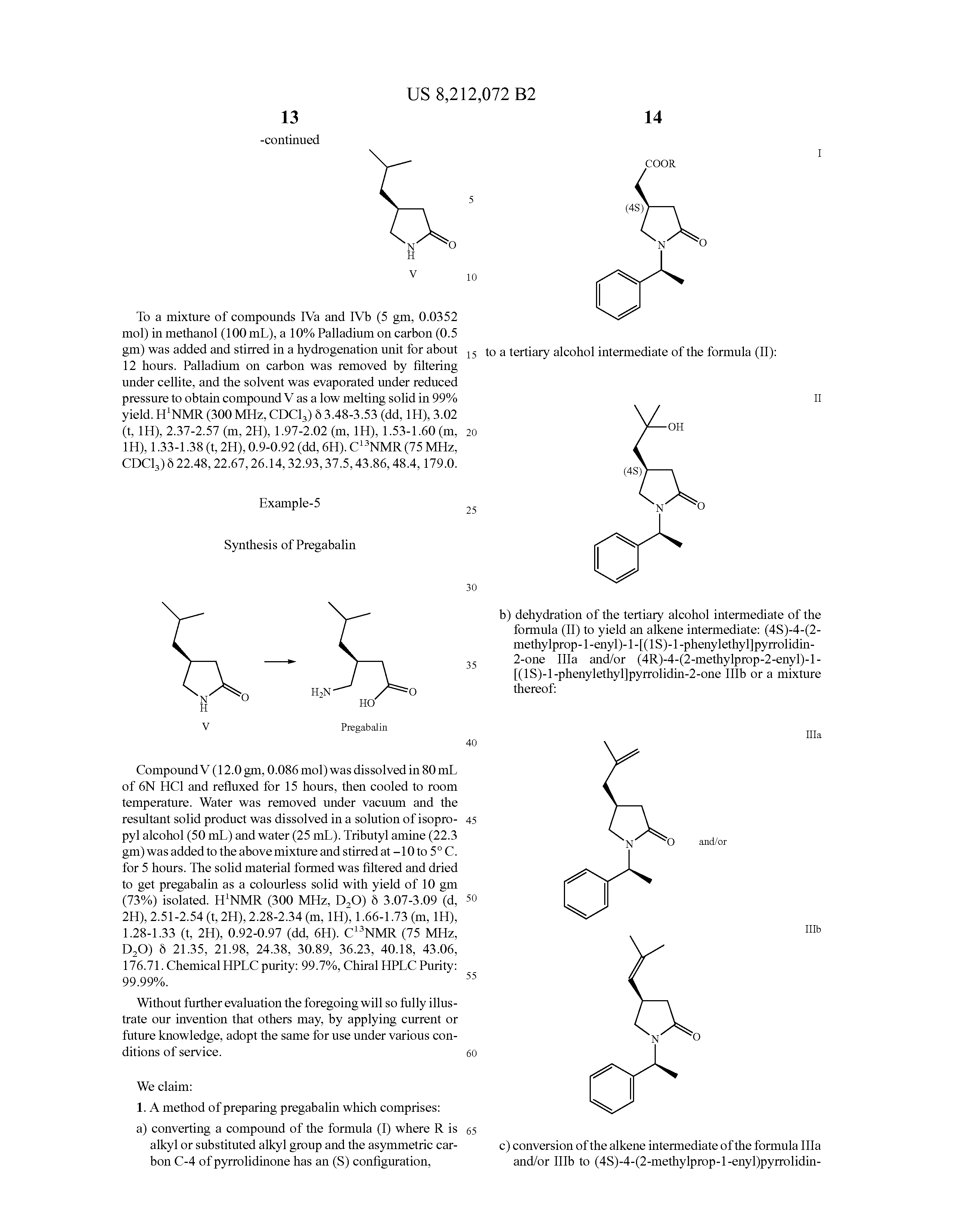 r enantiomer of pregabalin cost