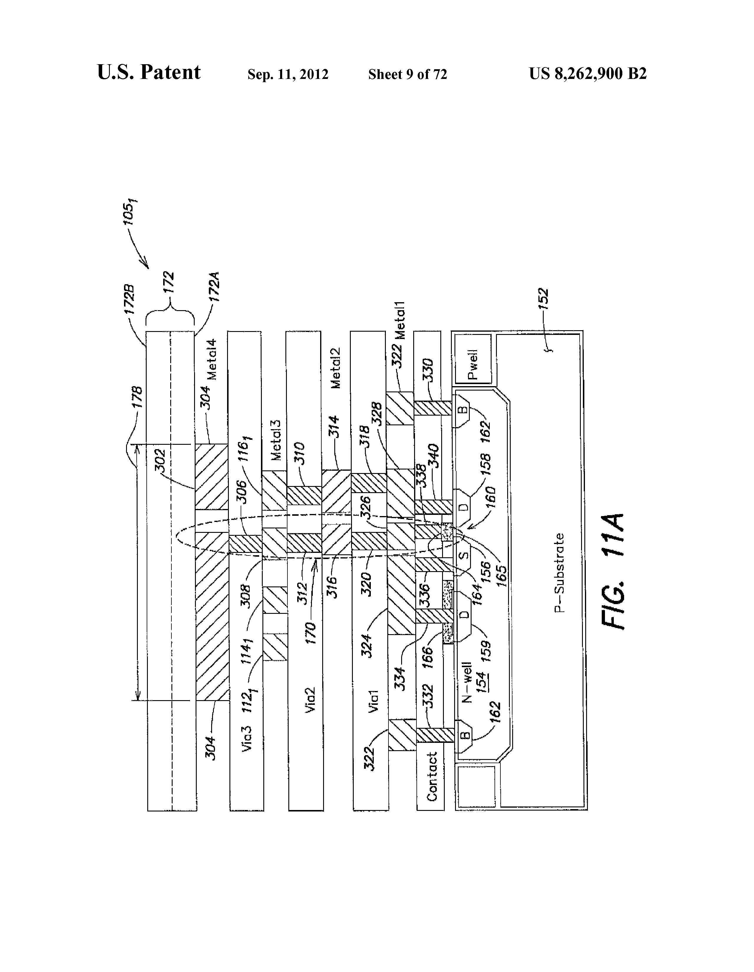 methods and apparatus for measuring analytes using large