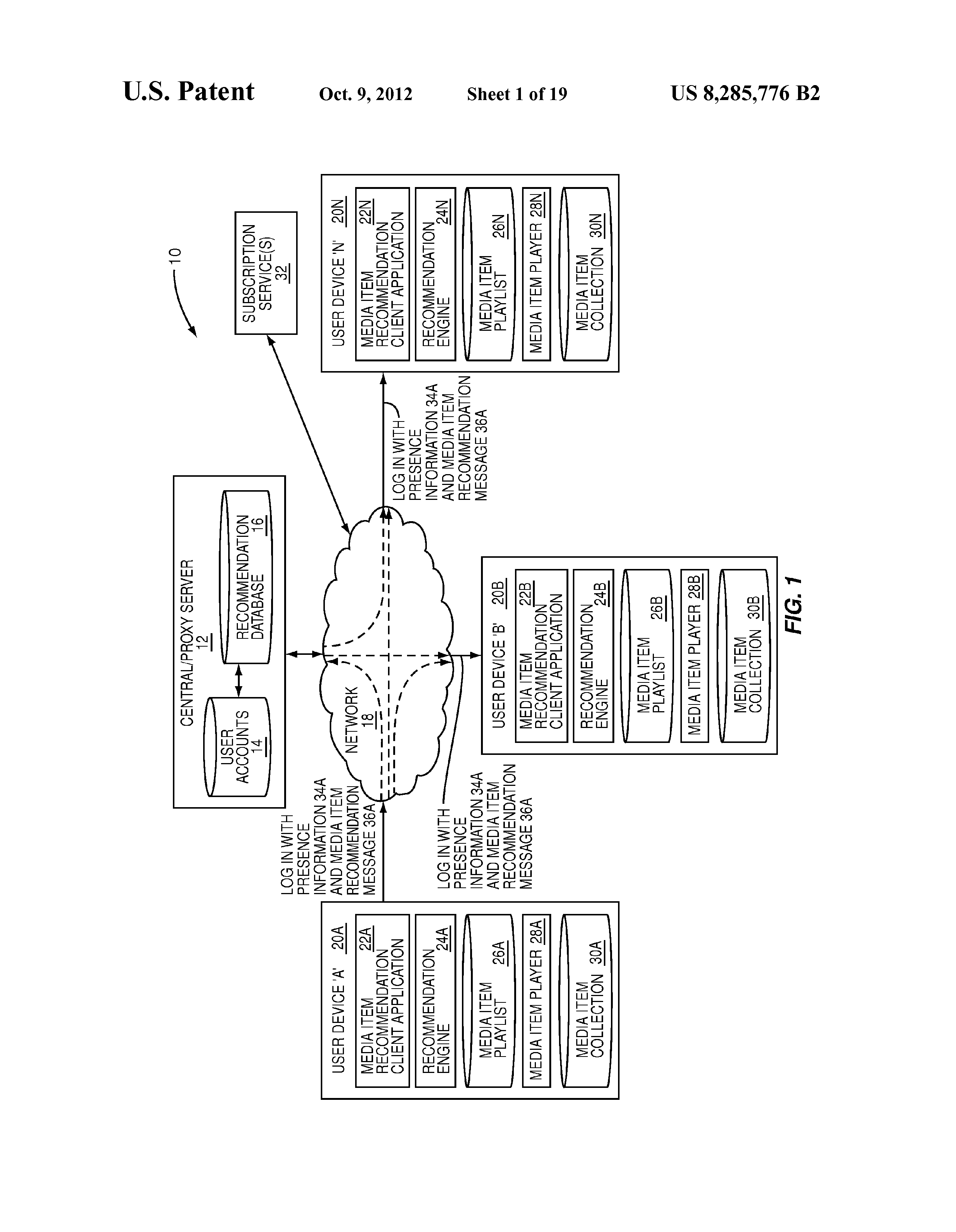 system and method for processing a received media item