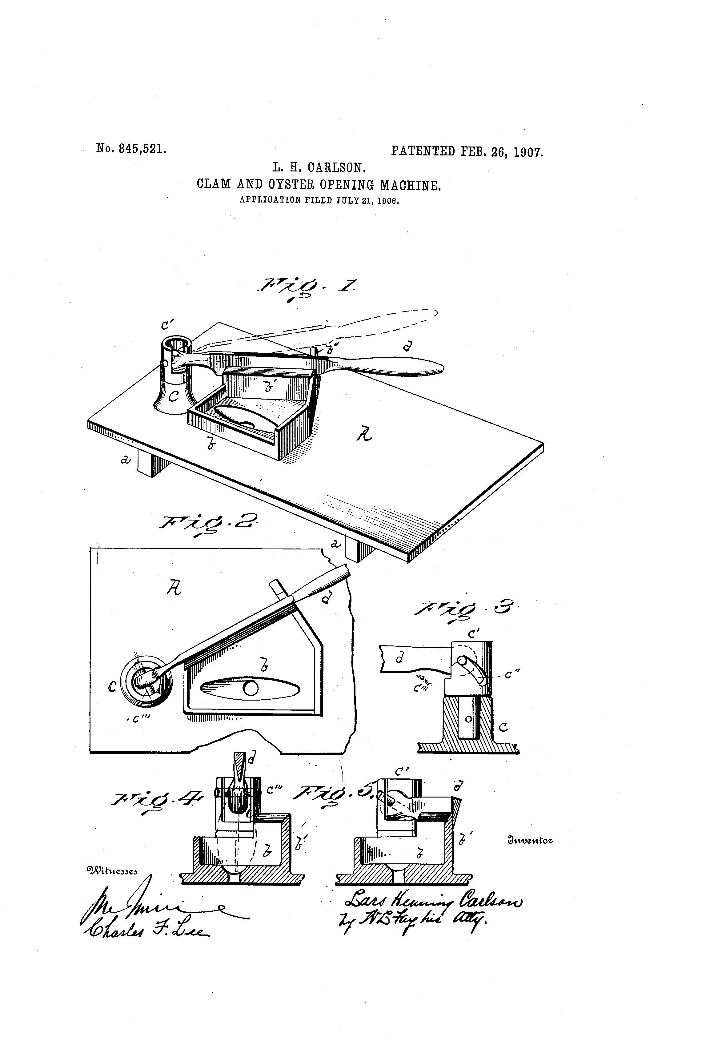 clam opening machine