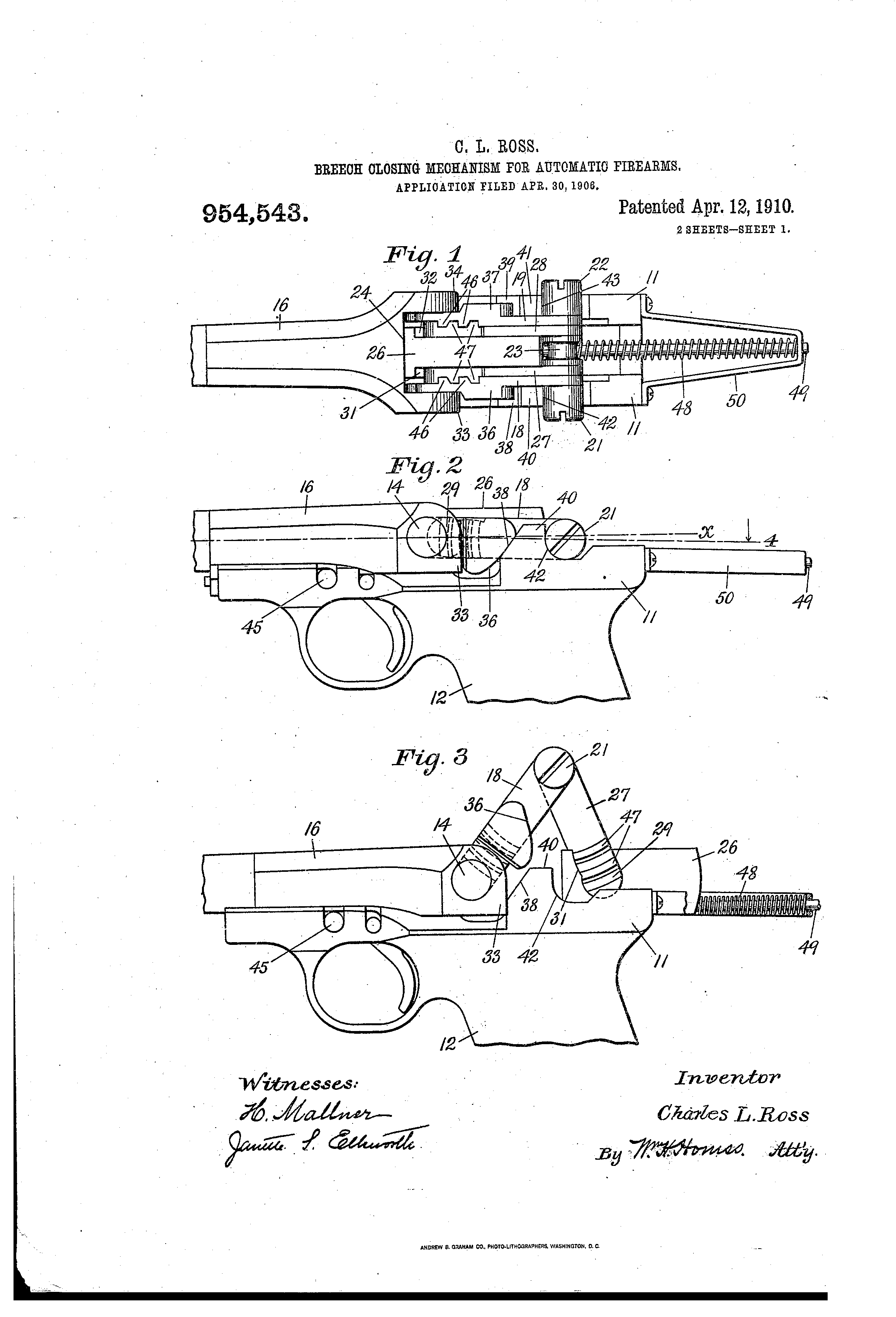 Fusil Ross - Page 2 US954543-0