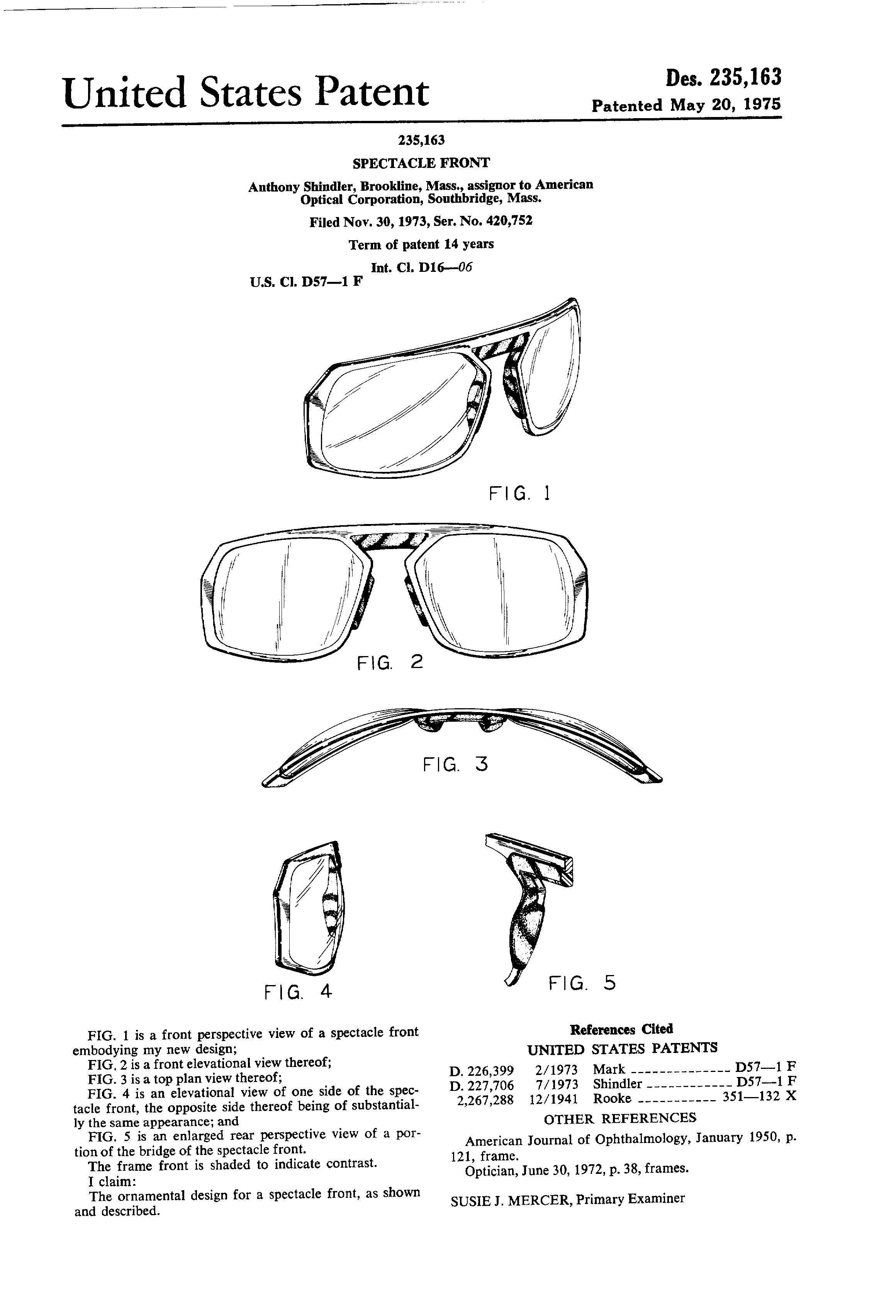 optical frames  american optical
