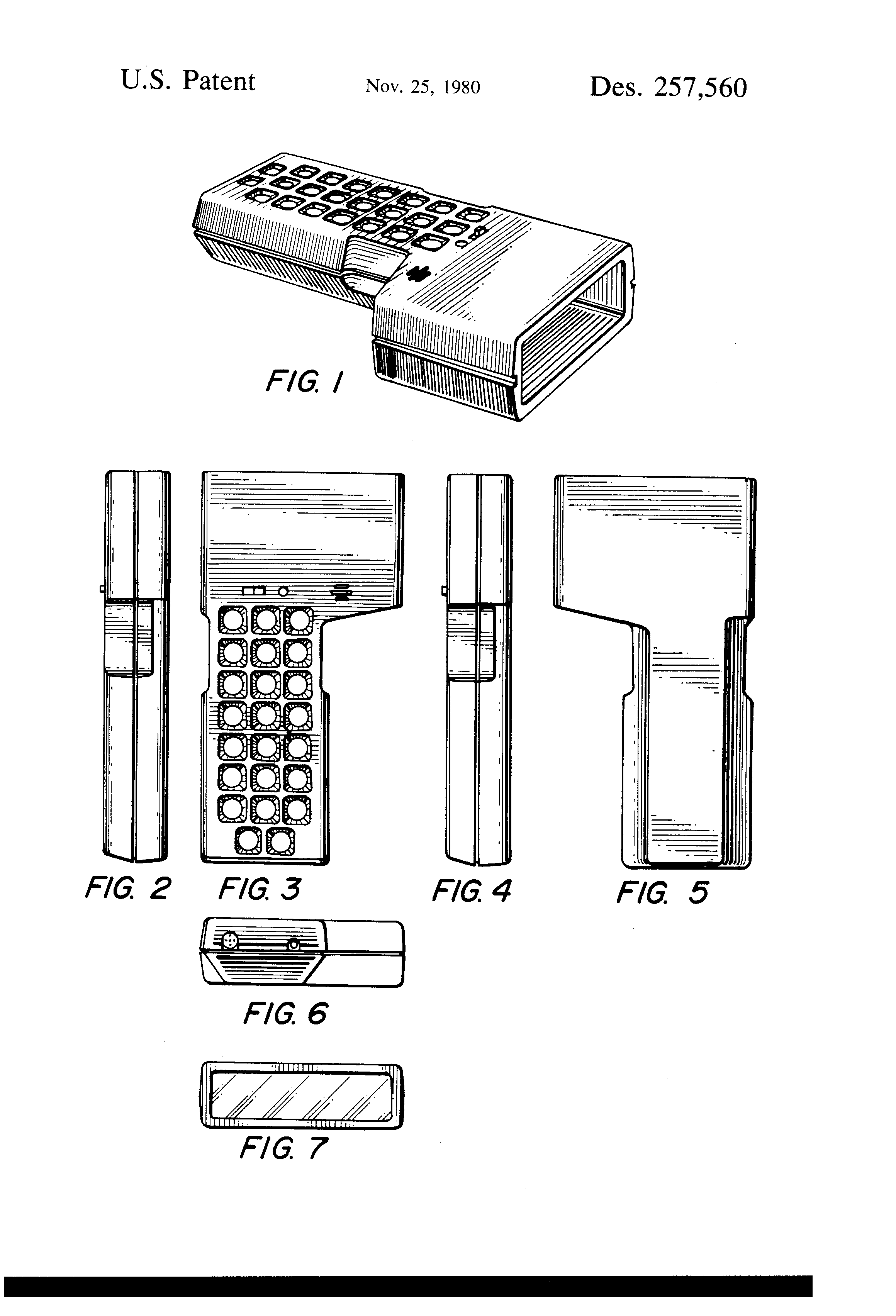 patent usd257560