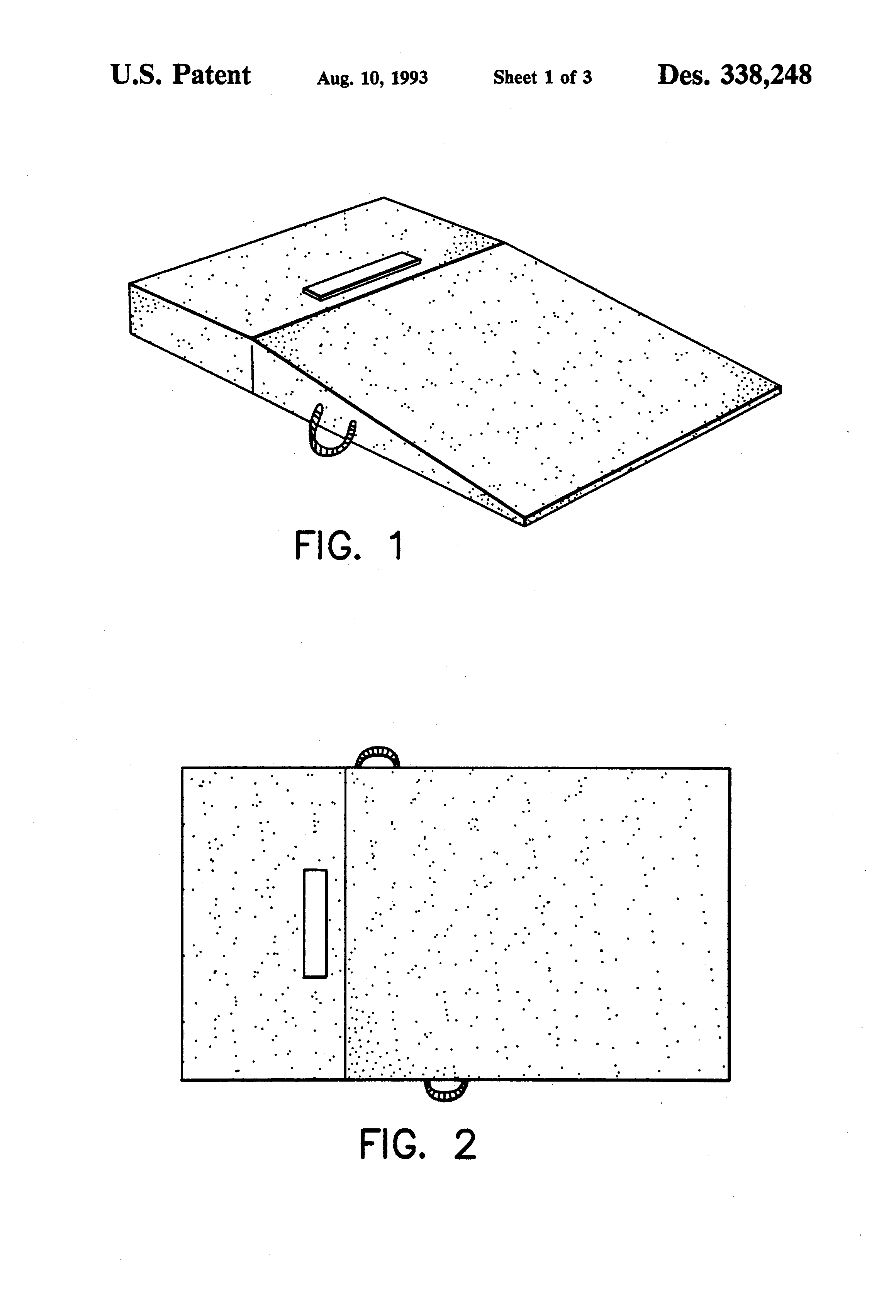 Patent Usd338248 Portable Pitching Mound Google Patents