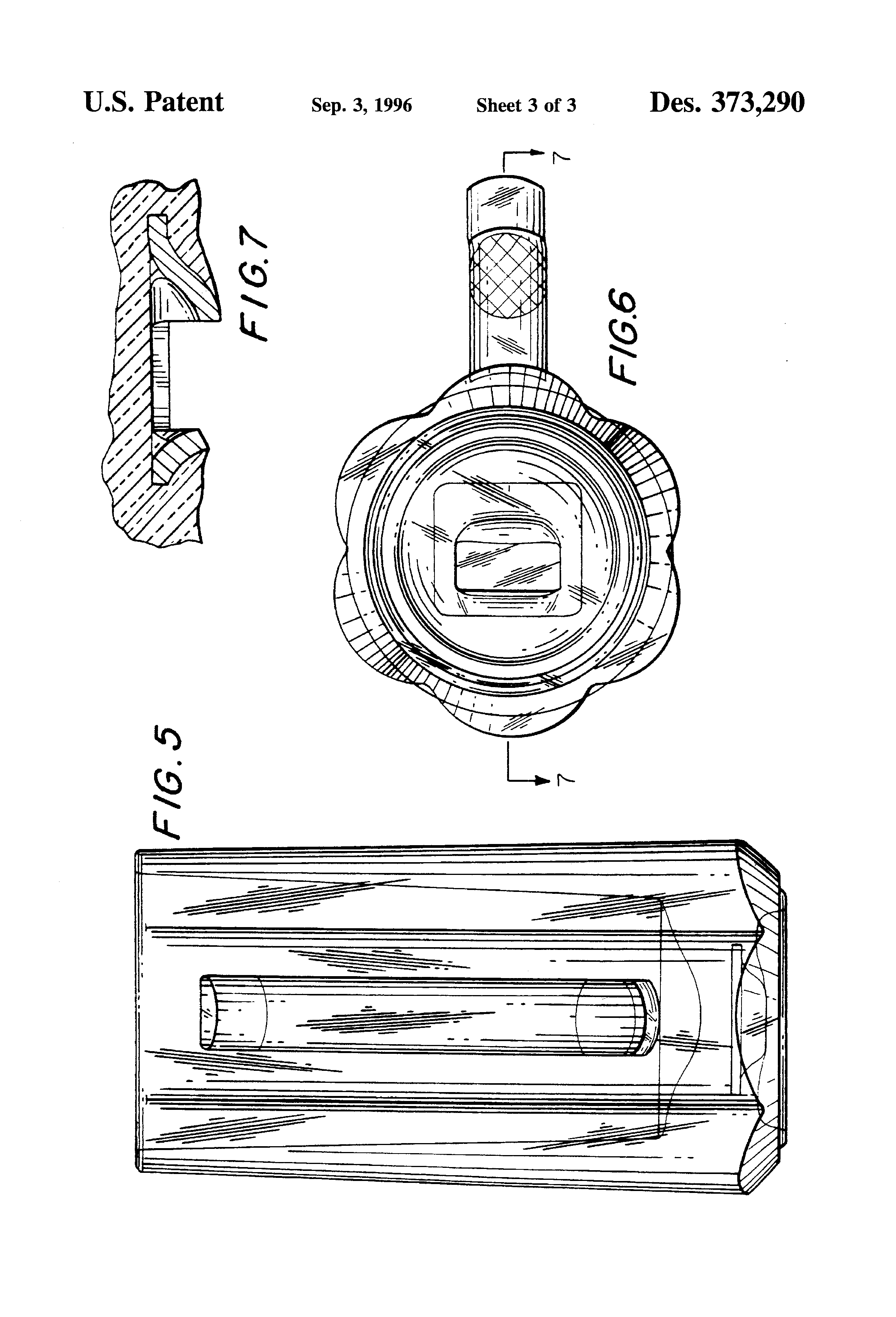 patent usd373290 combined beer stein and bottle opener google patents. Black Bedroom Furniture Sets. Home Design Ideas
