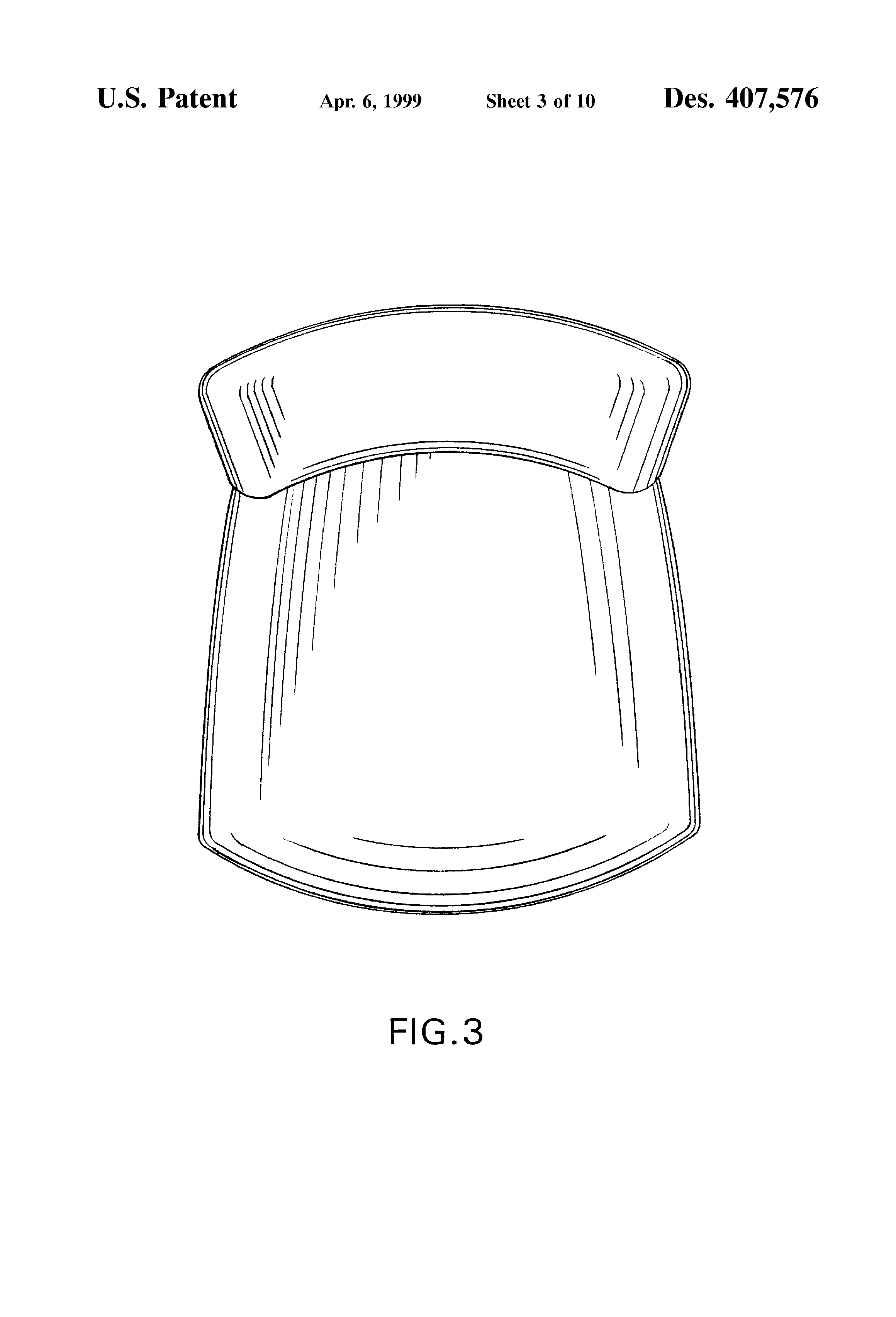 chair top view drawing