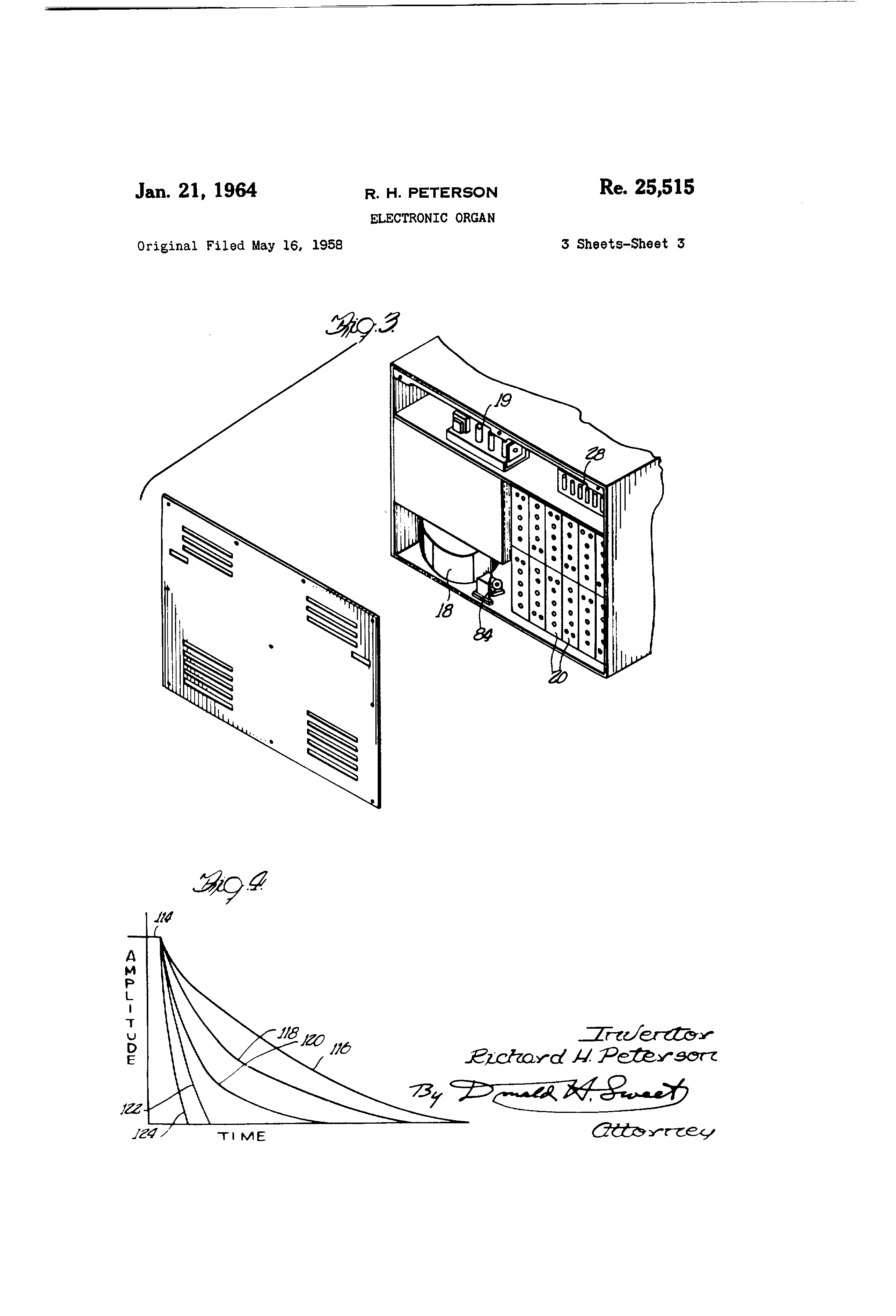 Patent Usre25515 Peterson Google Patents 7 Way Wiring Diagram Drawing