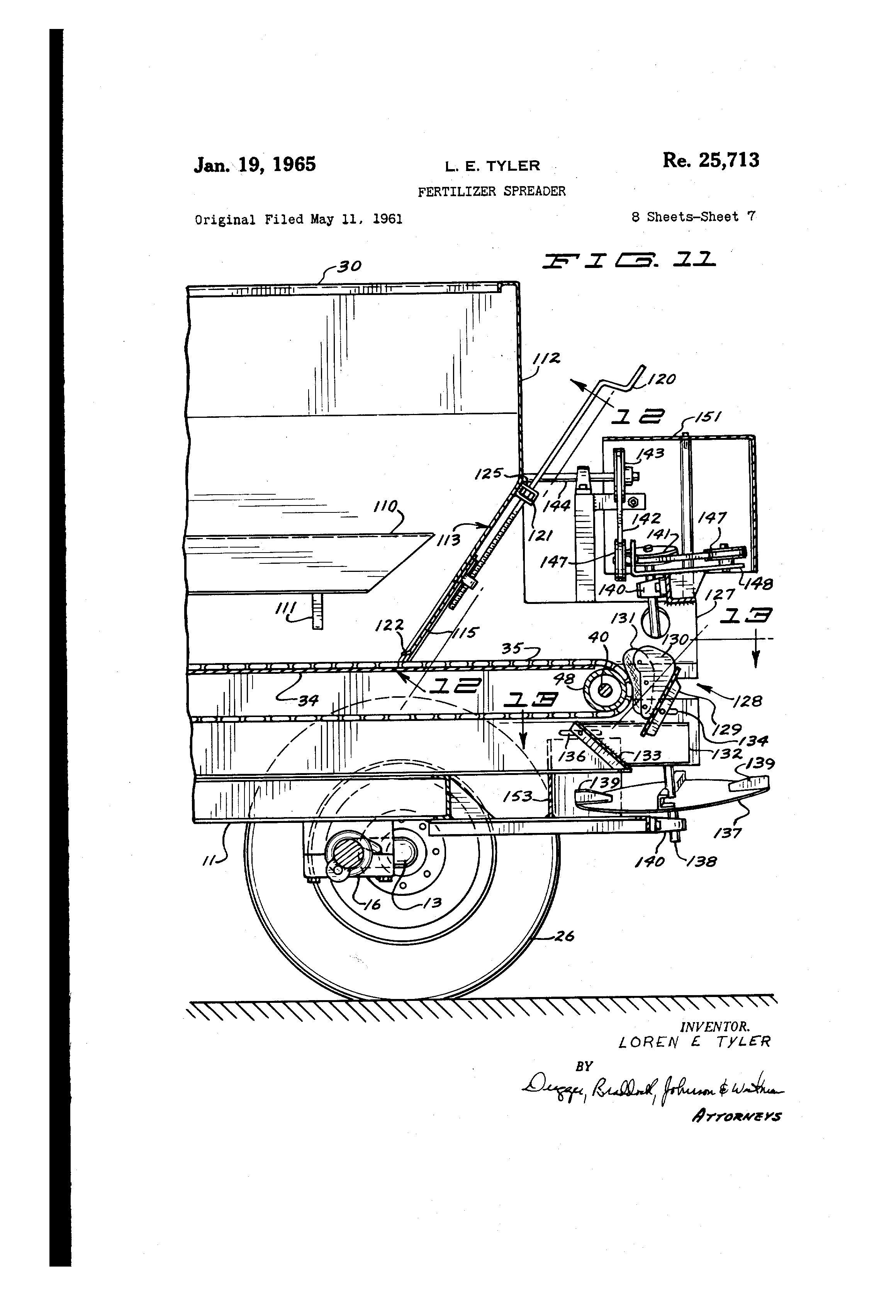 fertilizer spreader parts
