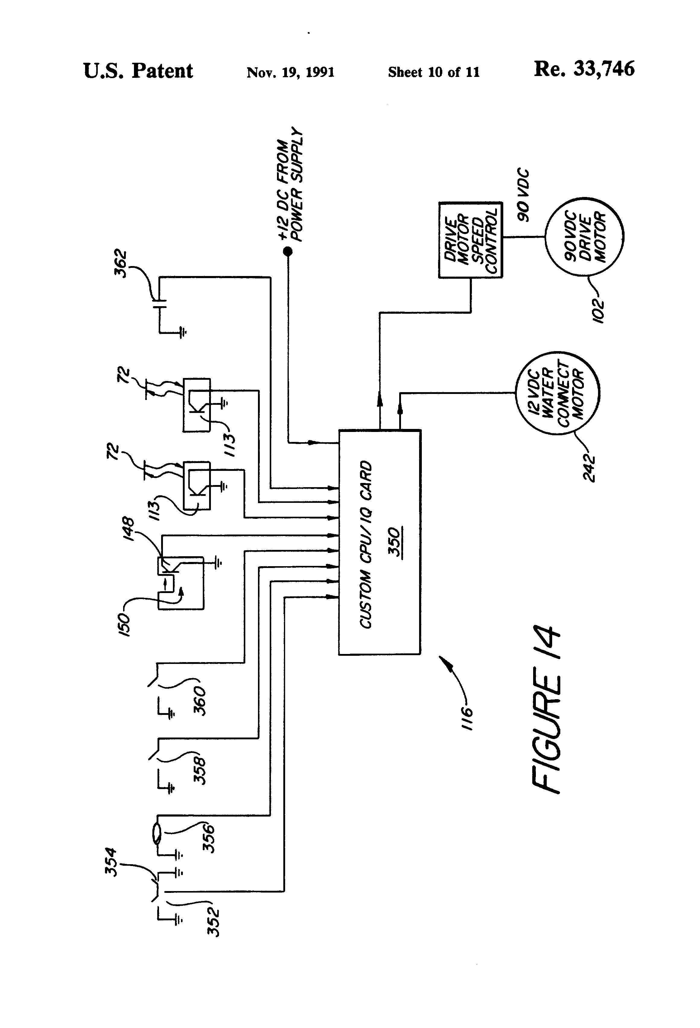 patent usre33746 programmable sprinkler system google patents patent drawing