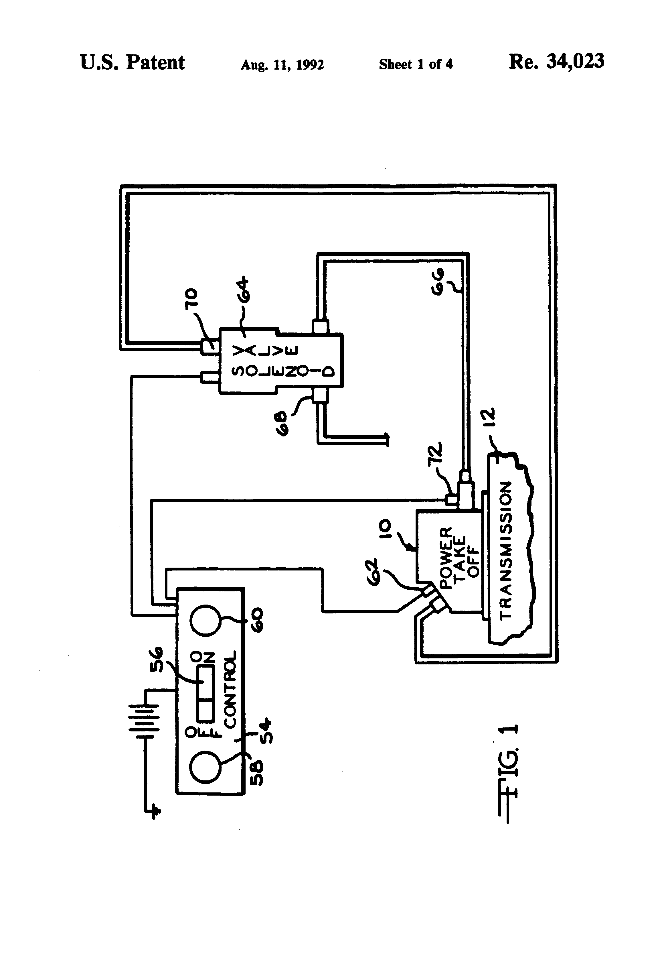 USRE34023 2 muncie pto wiring diagram muncie pto valve \u2022 wiring diagrams j muncie pto wiring diagram at crackthecode.co