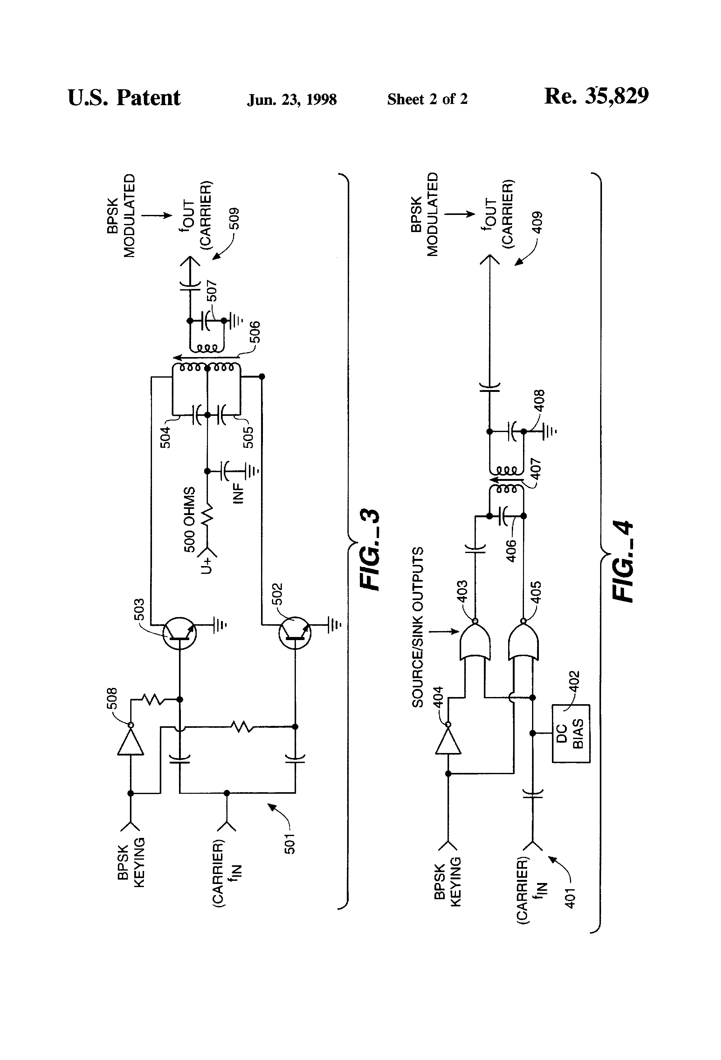 patent usre35829